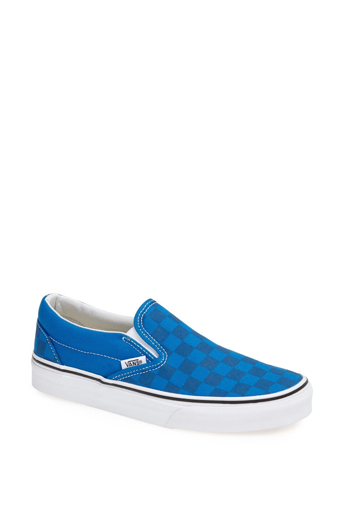 Alternate Image 1 Selected - Vans 'Classic - Checkerboard' Slip-On (Women)