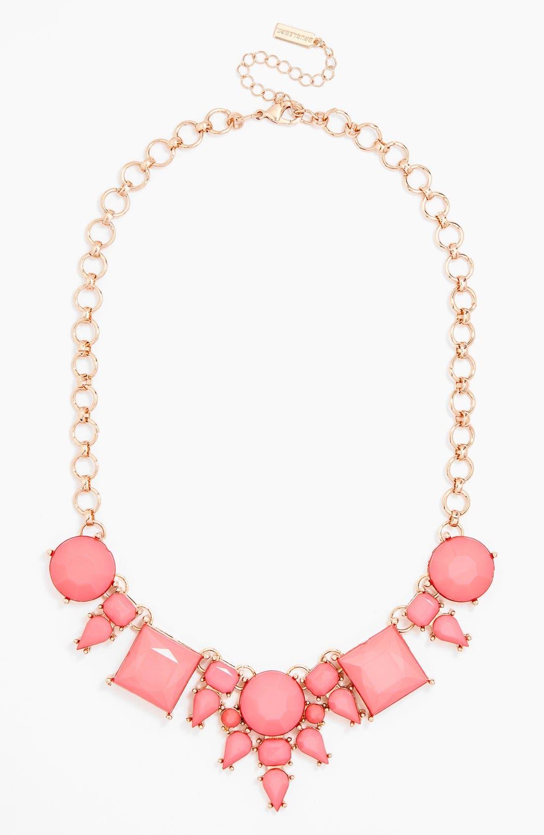 Alternate Image 1 Selected - BaubleBar 'Diamond Regina' Frontal Necklace