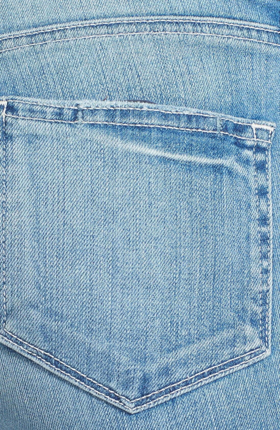 Alternate Image 3  - Paige Denim 'Skyline' Ankle Peg Skinny Jeans (Whitley)