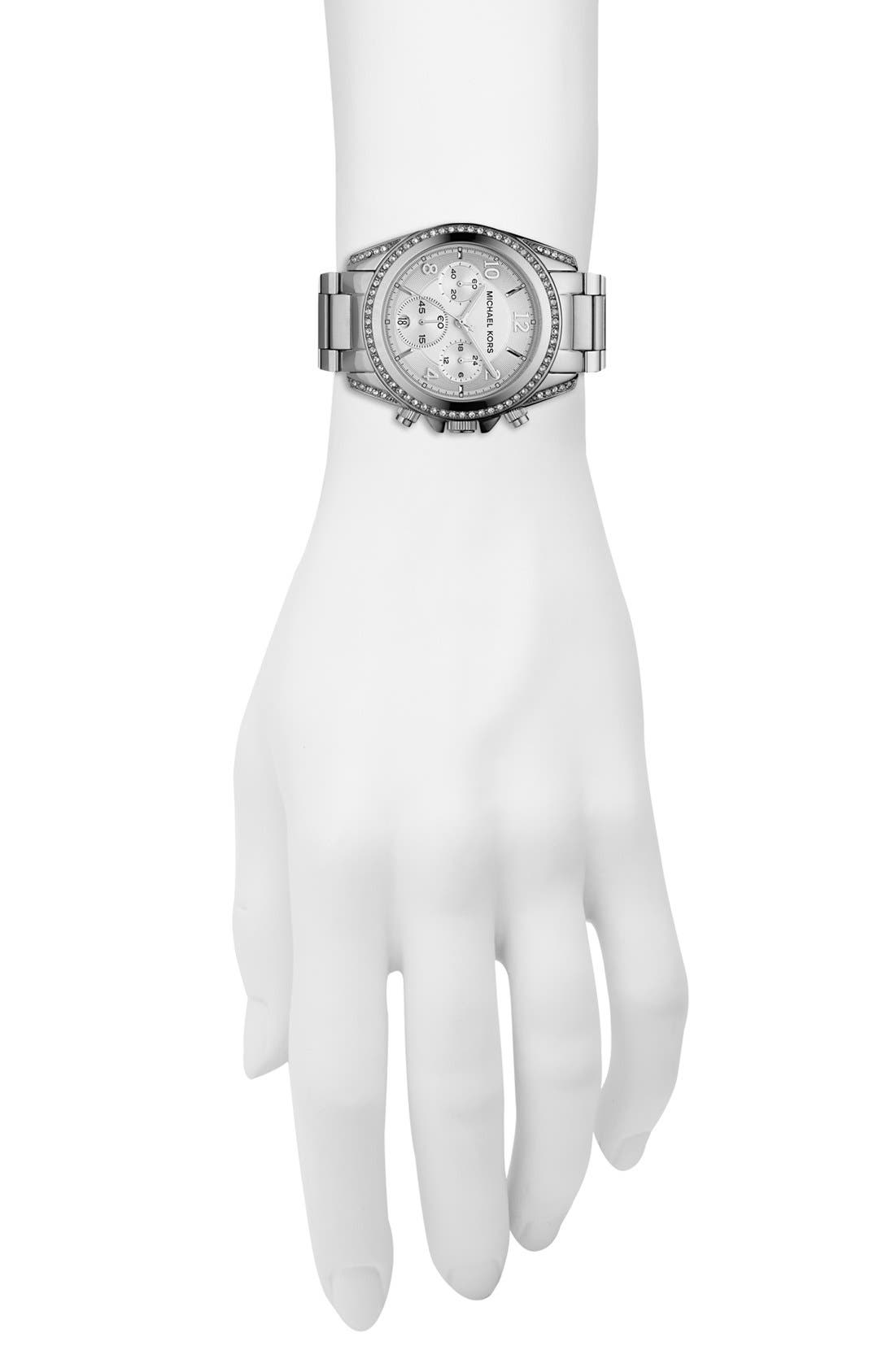 Alternate Image 4  - Michael Kors 'Blair' Chronograph Watch, 39mm