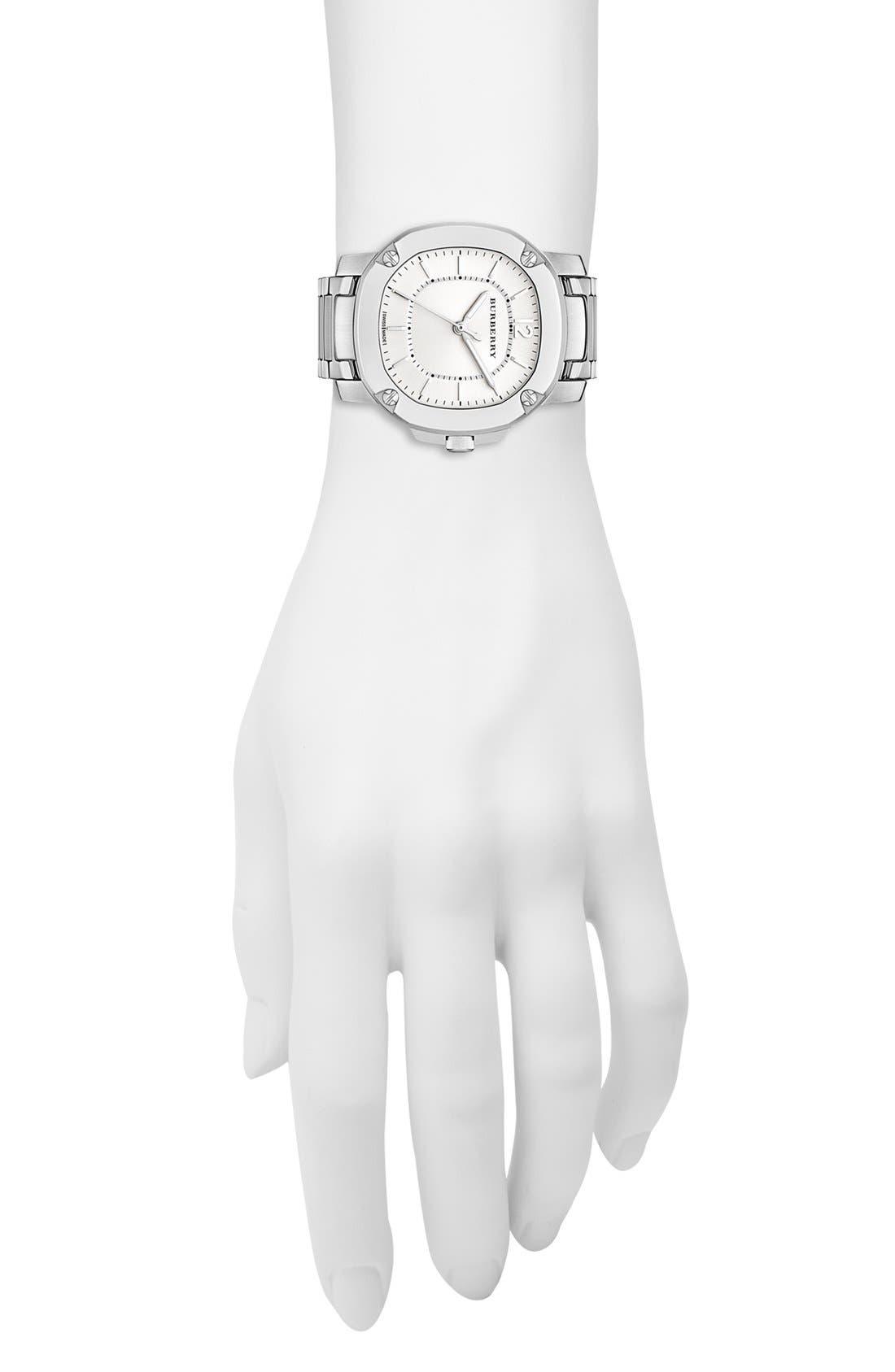 Alternate Image 5  - Burberry The Britain Bracelet Watch, 34mm