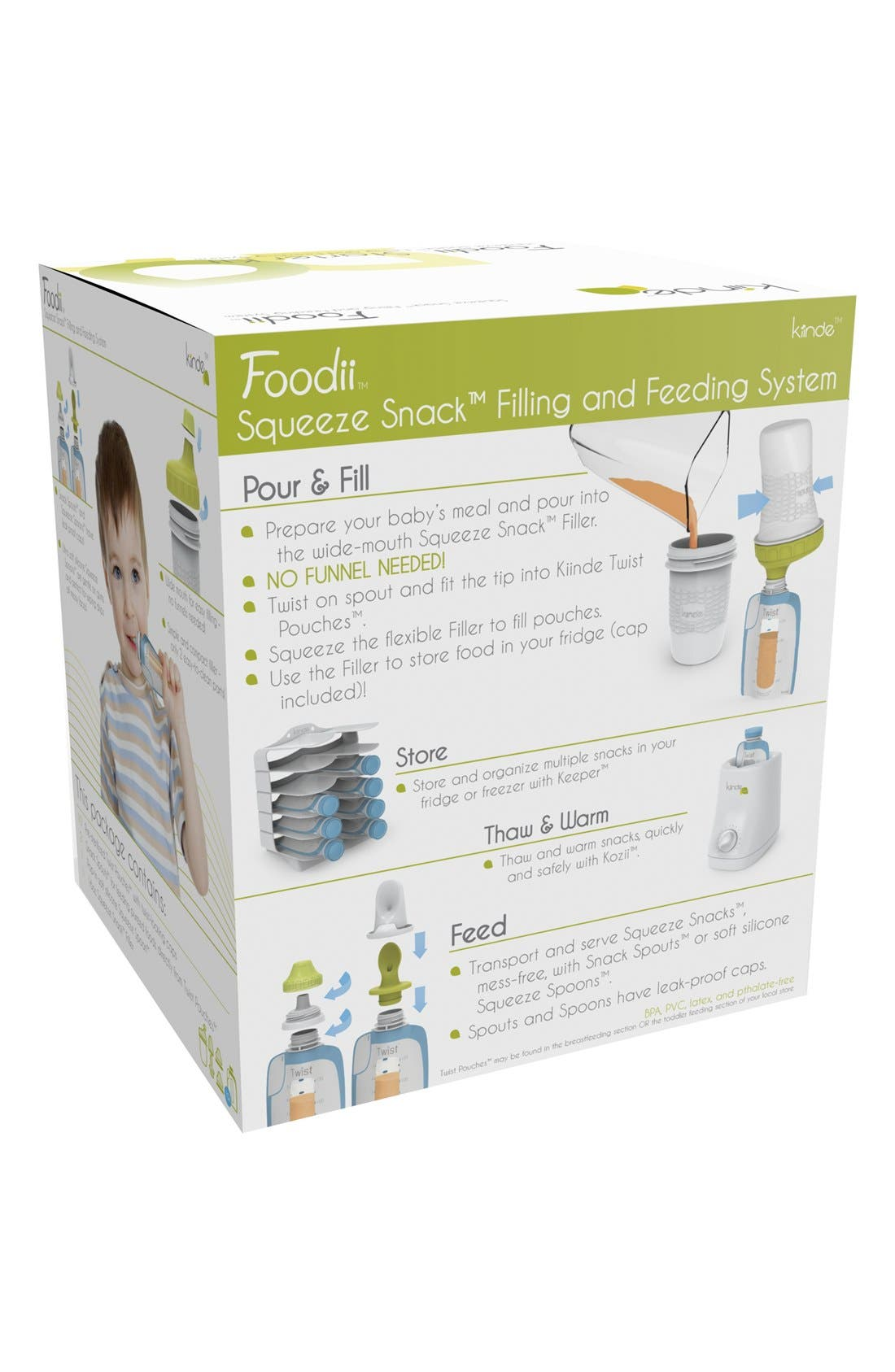 Alternate Image 5  - Kiinde Foodii™ Starter Kit