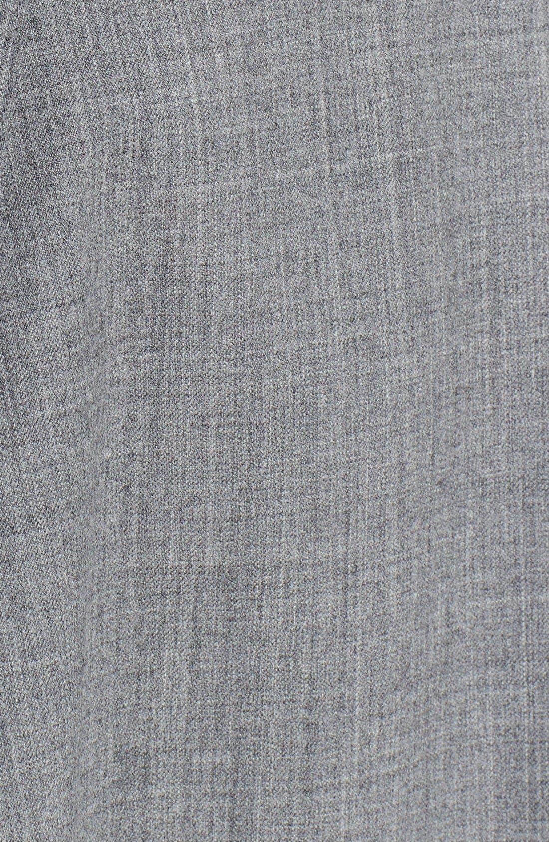Alternate Image 4  - Michael Kors Asymmetrical Hem Tropical Wool Skirt