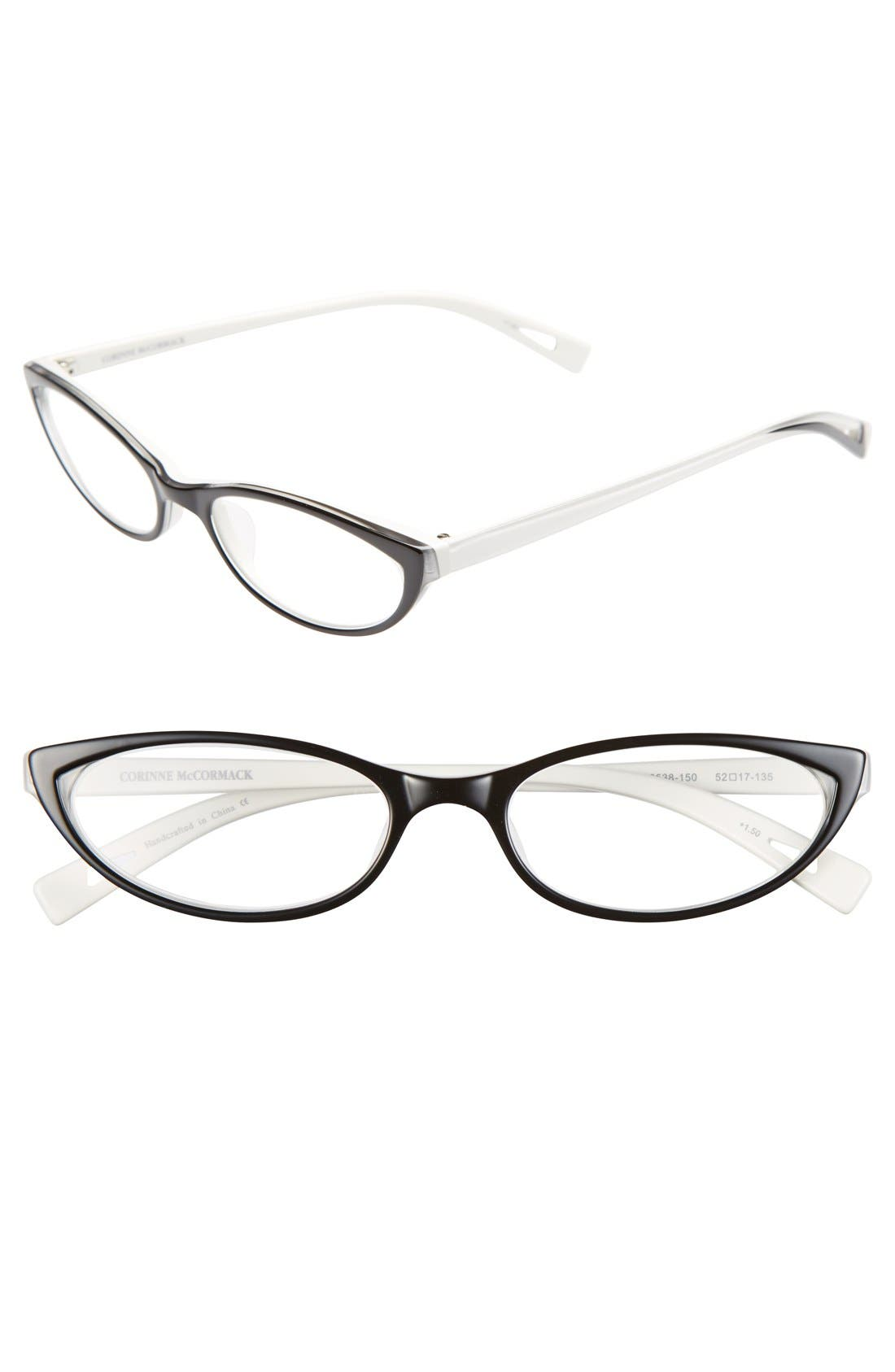Alternate Image 1 Selected - Corinne McCormack 'Roseanne' 52mm Reading Glasses