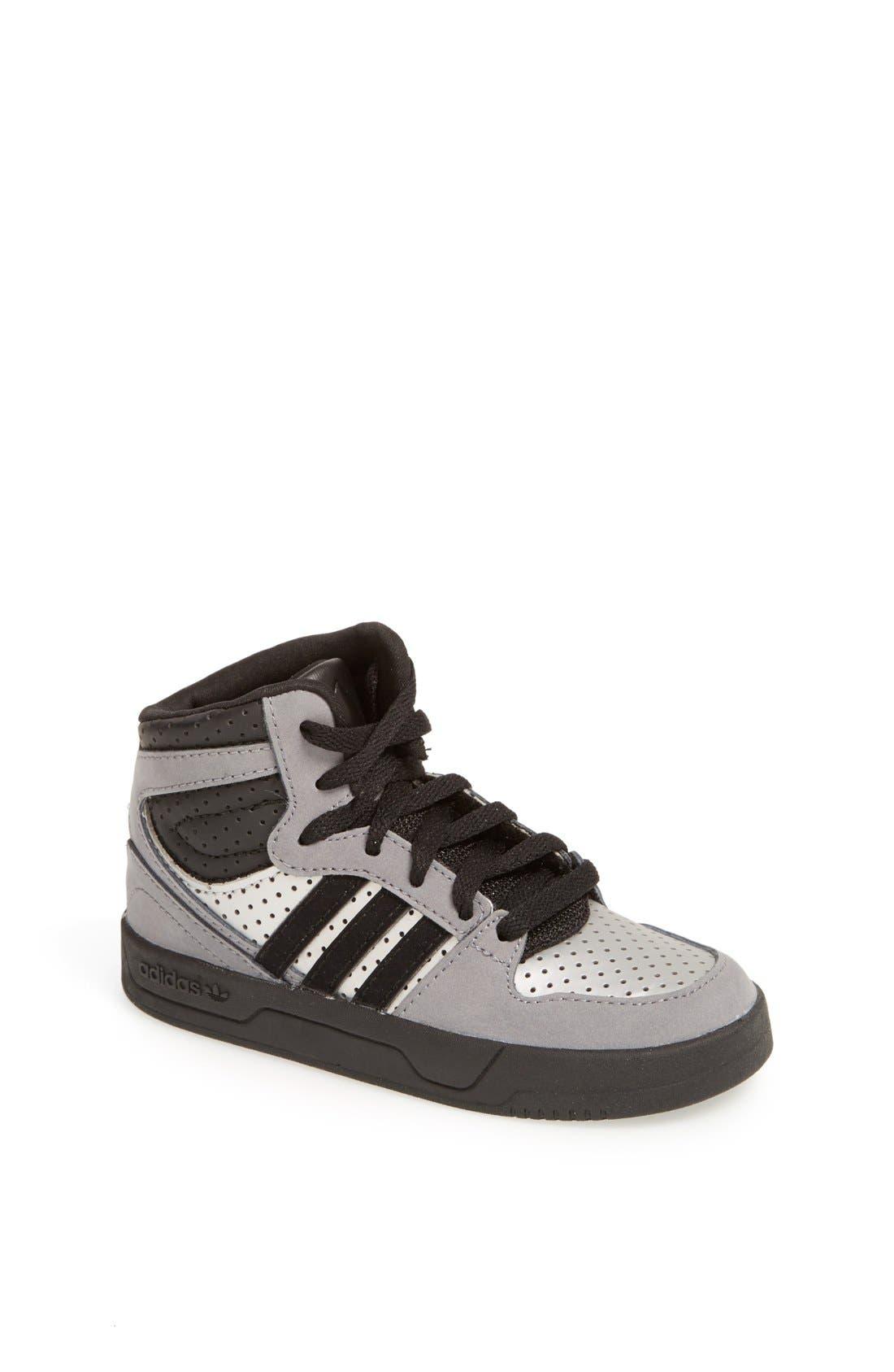 Alternate Image 1 Selected - adidas 'Court Attitude' Sneaker (Baby, Walker & Toddler)