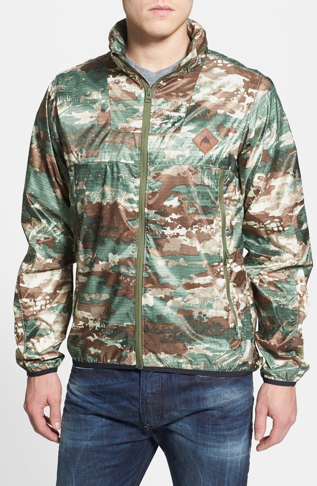 Alternate Image 1 Selected - Burton 'Abrams' Water Resistant Windbreaker Jacket