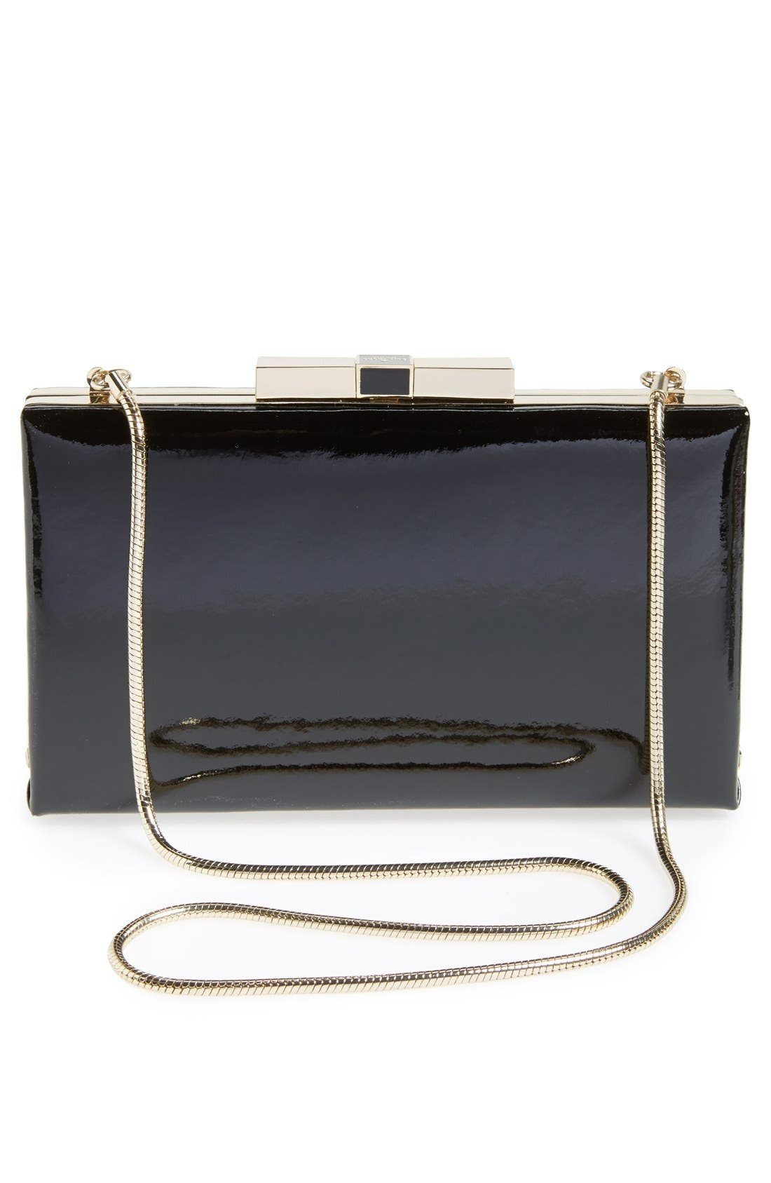 Alternate Image 4  - kate spade new york 'milo' patent leather clutch