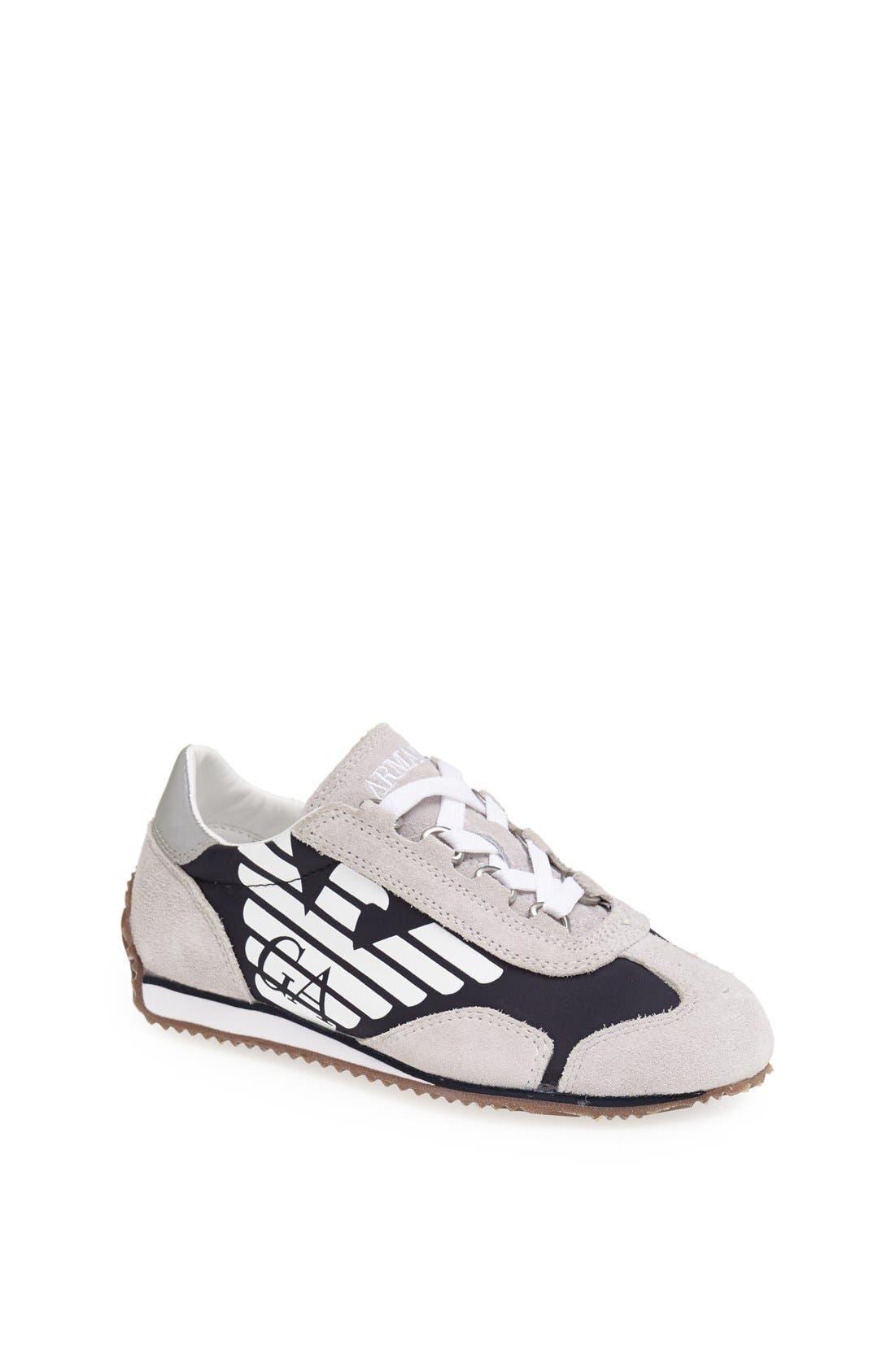 Alternate Image 1 Selected - Armani Junior Sneaker (Toddler, Little Kid & Big Kid)