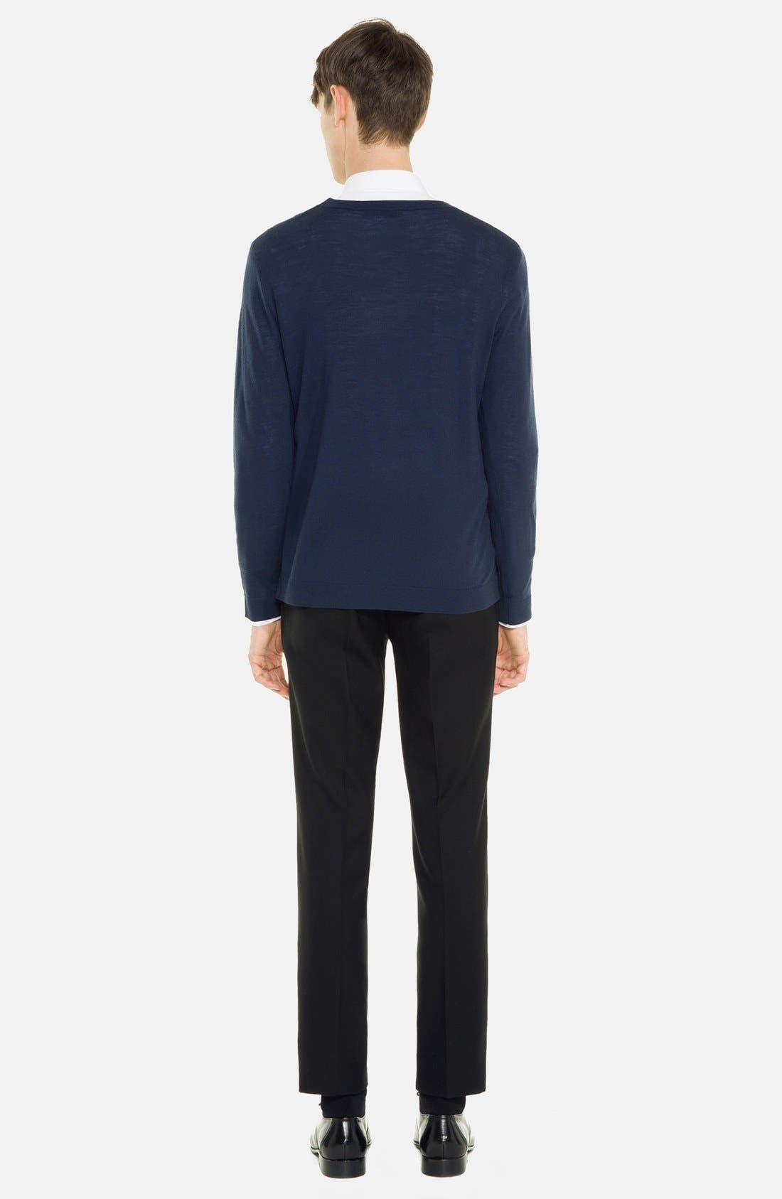 Alternate Image 2  - sandro 'Birdy' Merino Wool Sweater
