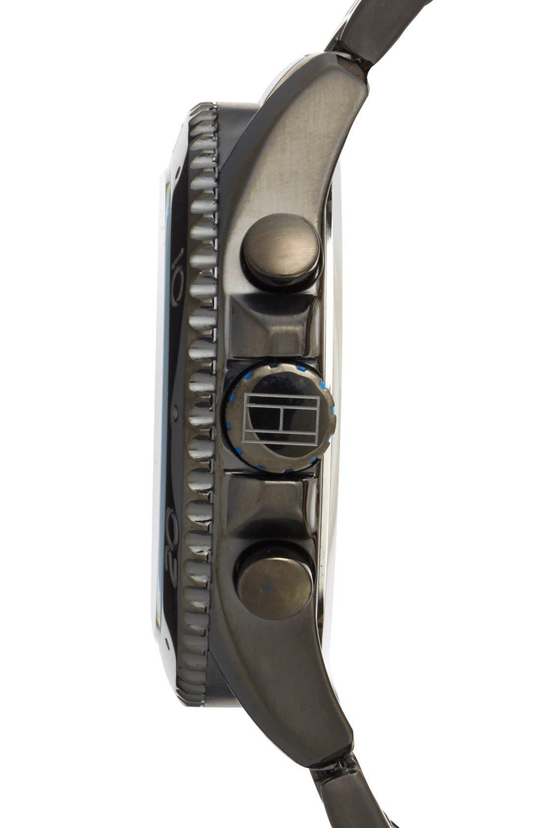 Alternate Image 3  - Tommy Hilfiger Multifunction Bracelet Watch, 47mm
