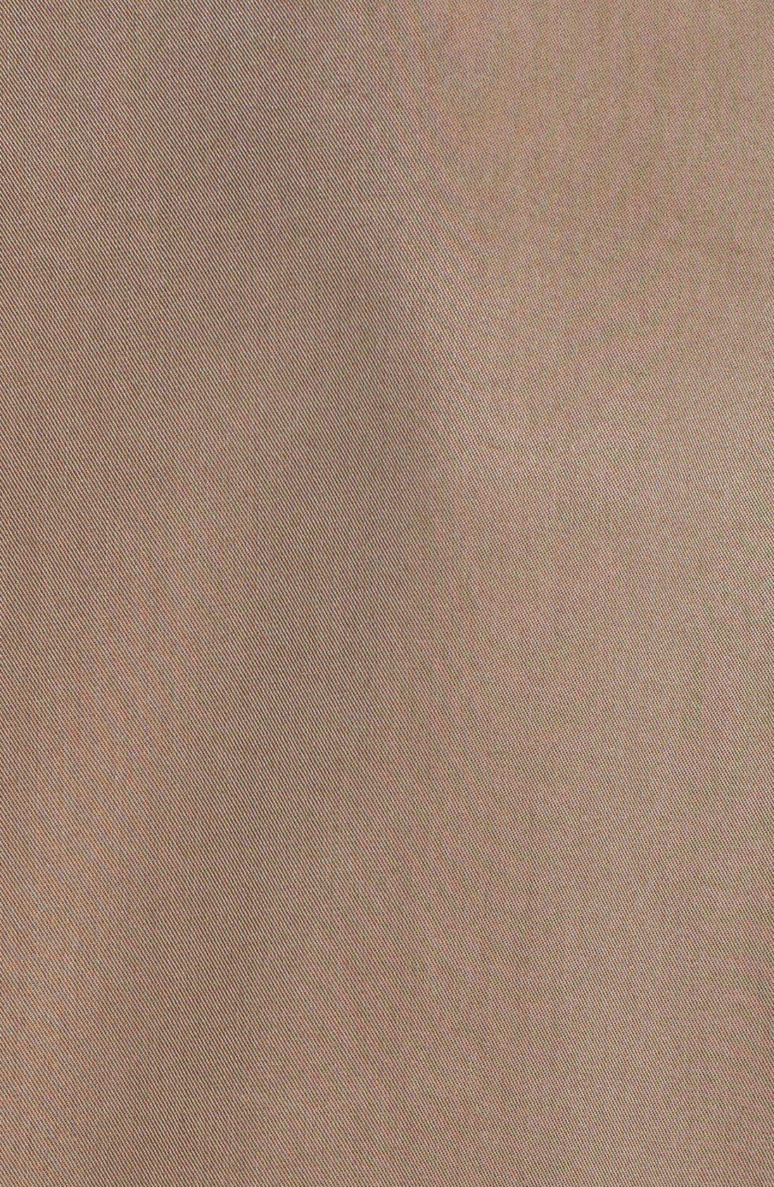 Alternate Image 3  - ASTR Collarless Slouchy Roll Sleeve Jacket
