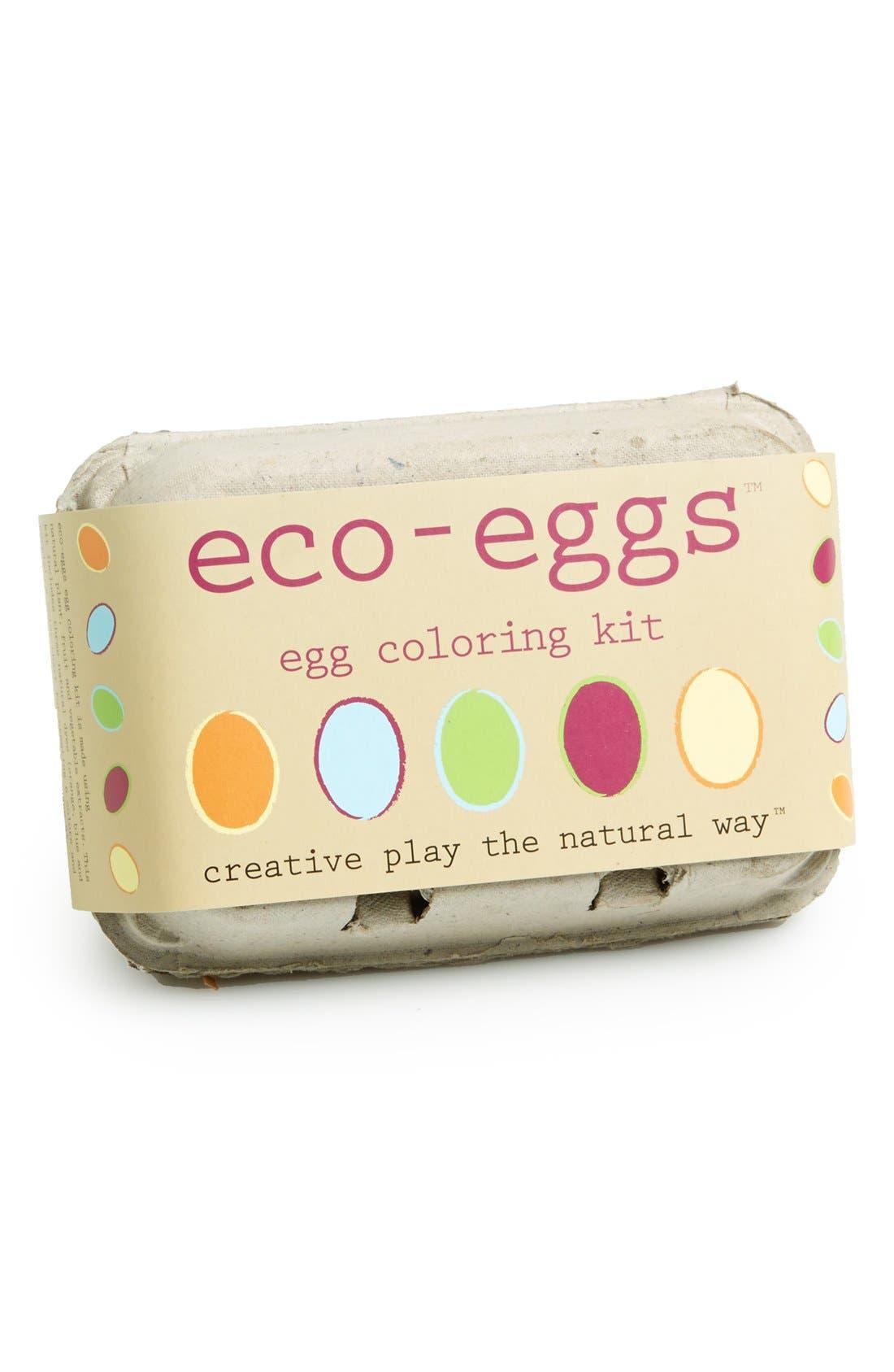 Alternate Image 1 Selected - Eco Kids 'Eco-Eggs' Egg Coloring Kit