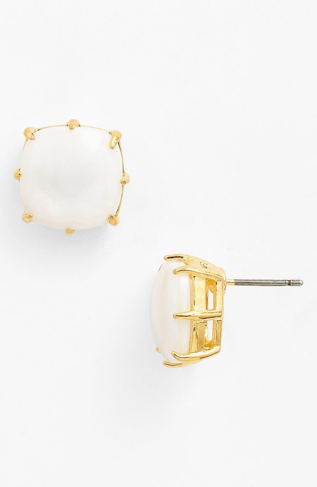 Alternate Image 1 Selected - Lauren Ralph Lauren Square Stone Earrings