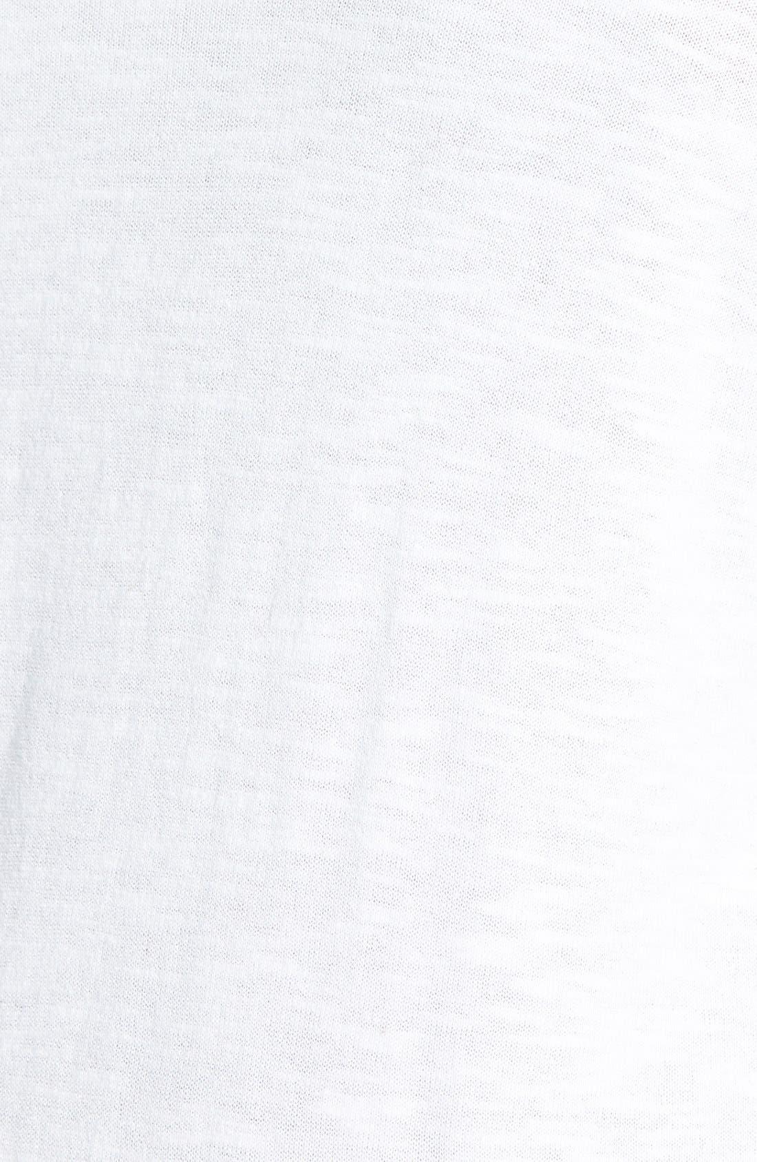 Alternate Image 3  - Sejour 'Telstar Stitch' V-Neck Cardigan (Plus Size)