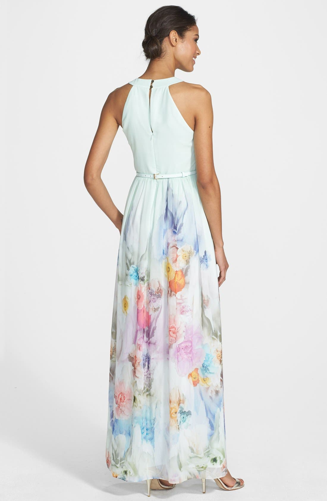 Alternate Image 2  - Ted Baker London 'Beula' Floral Print Chiffon Maxi Dress