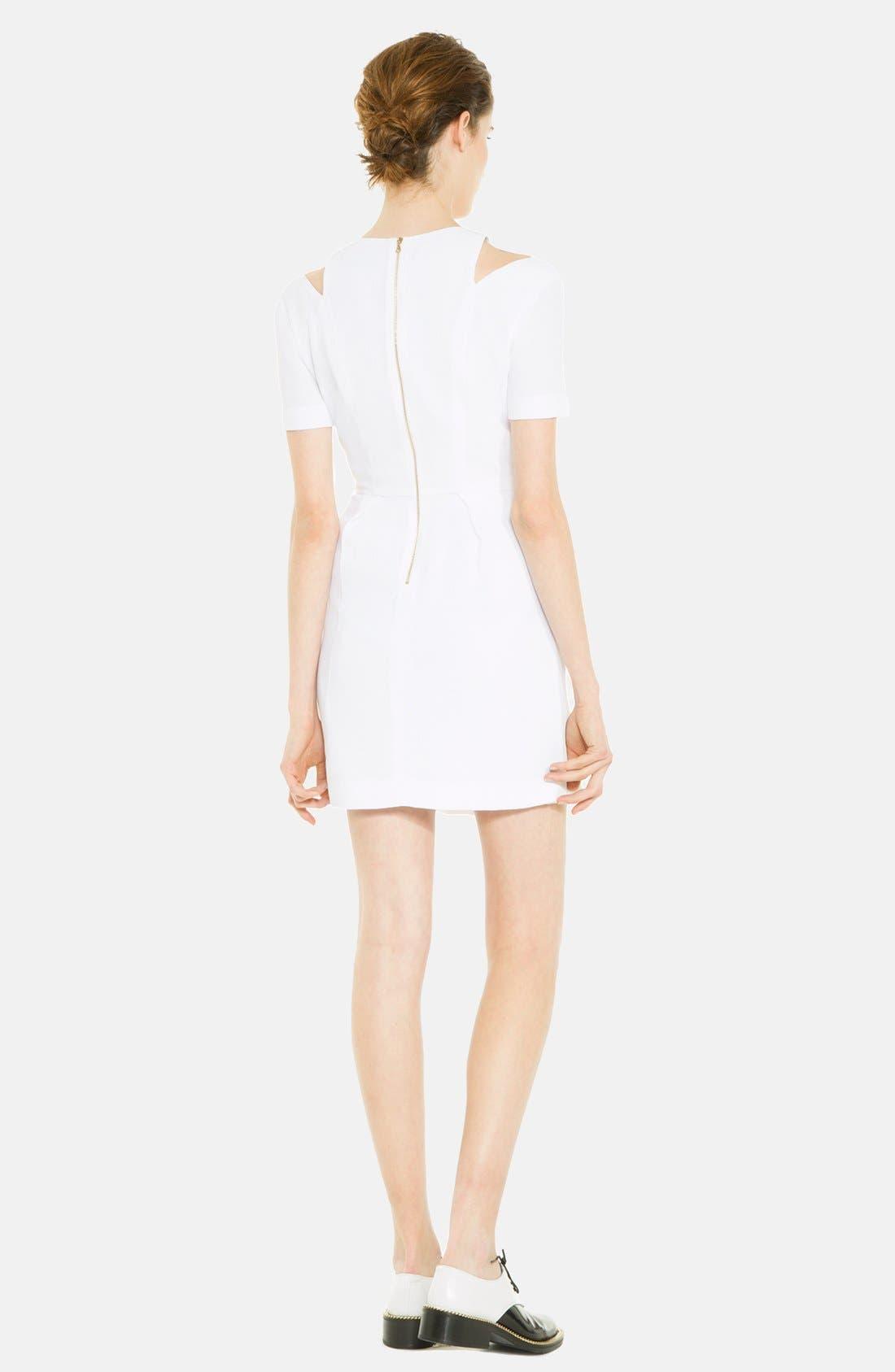 Alternate Image 2  - sandro 'Recompense' Cotton Fit & Flare Dress