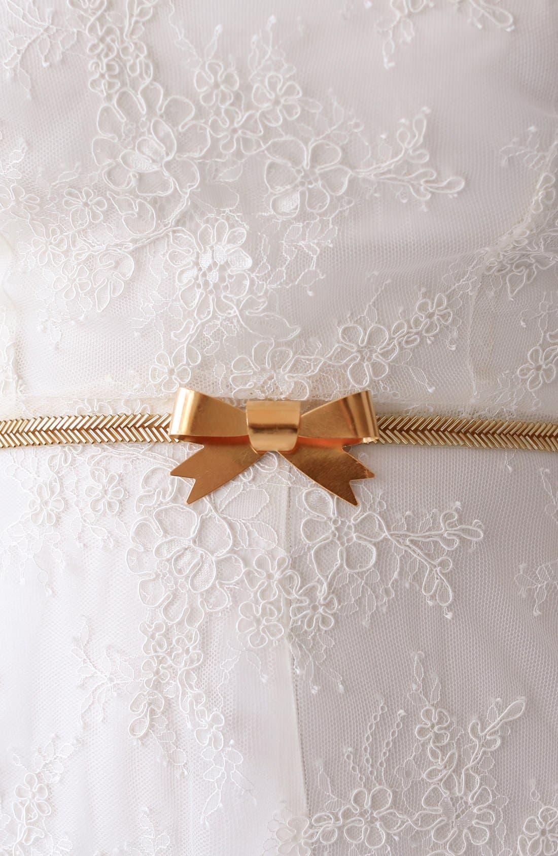 Alternate Image 4  - twigs & honey Gilded Bow Sash