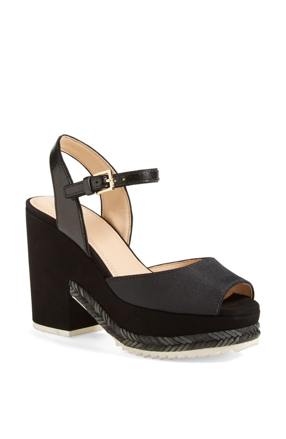 Alternate Image 1 Selected - Tory Burch 'Brie' Platform Sandal
