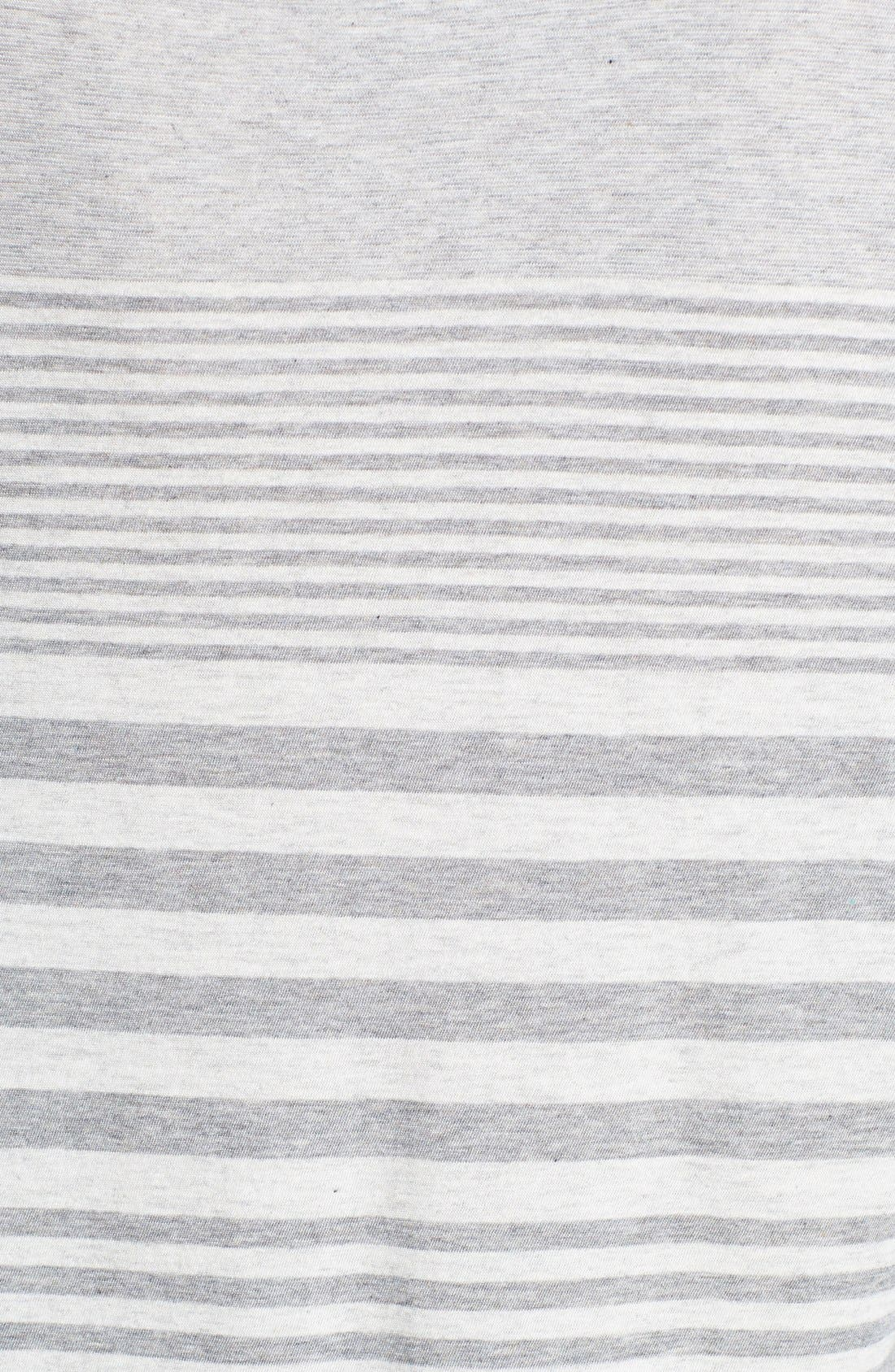 Alternate Image 3  - Vince Variegated Stripe Top