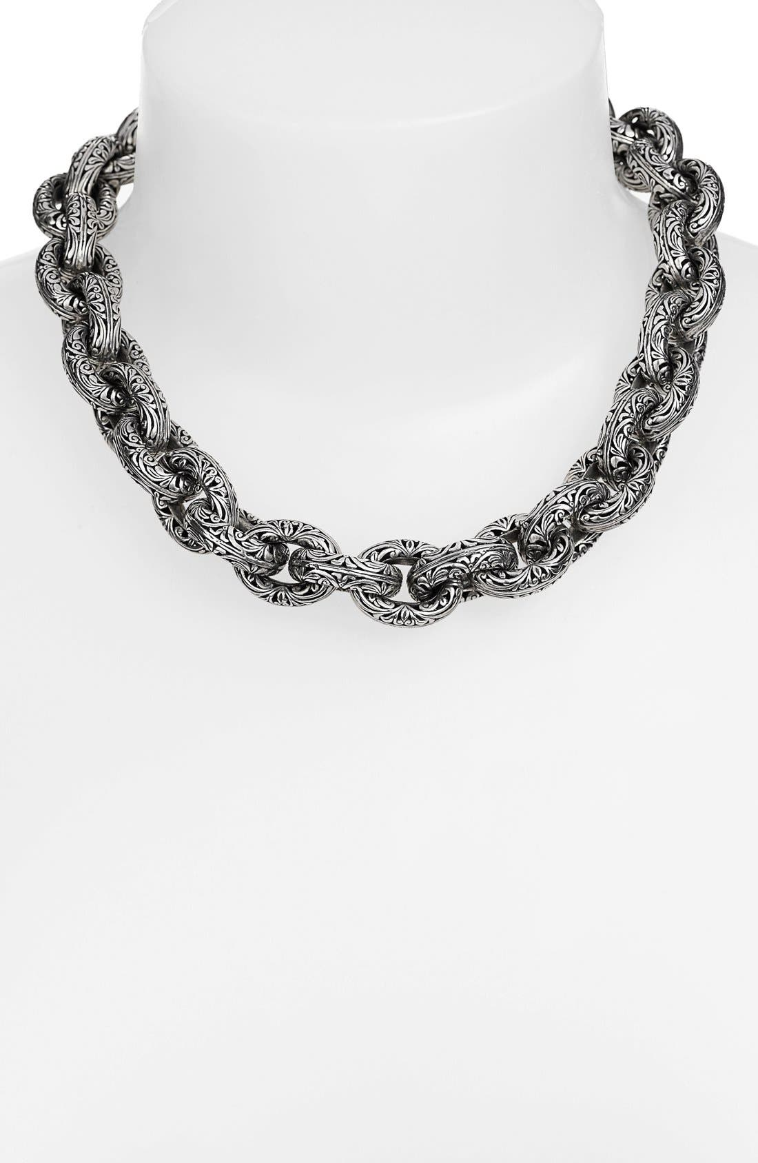 Konstantino 'Classics' Link Collar Necklace