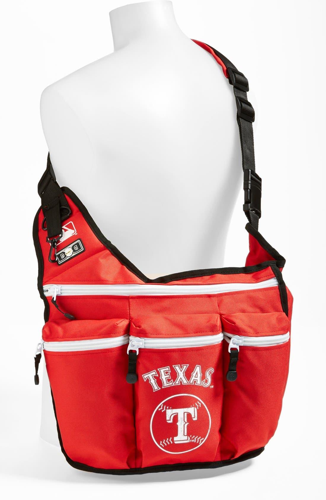 Alternate Image 2  - Diaper Dude 'Texas Rangers' Messenger Diaper Bag