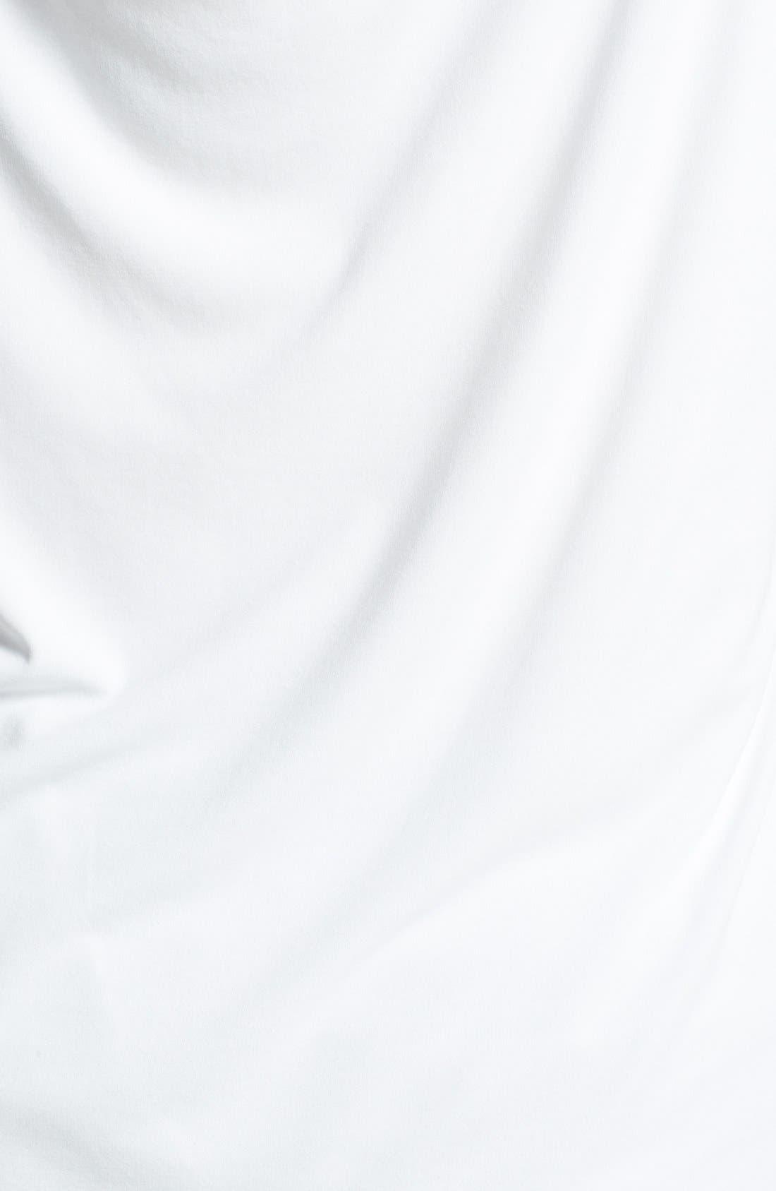 Alternate Image 3  - Eileen Fisher Drape Back Silk Top (Plus Size)