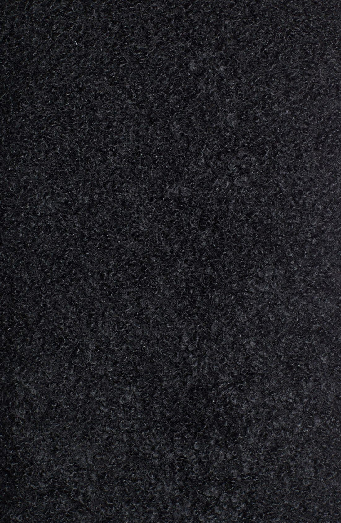 Alternate Image 3  - Eileen Fisher Leather Trim Alpaca Blend Vest