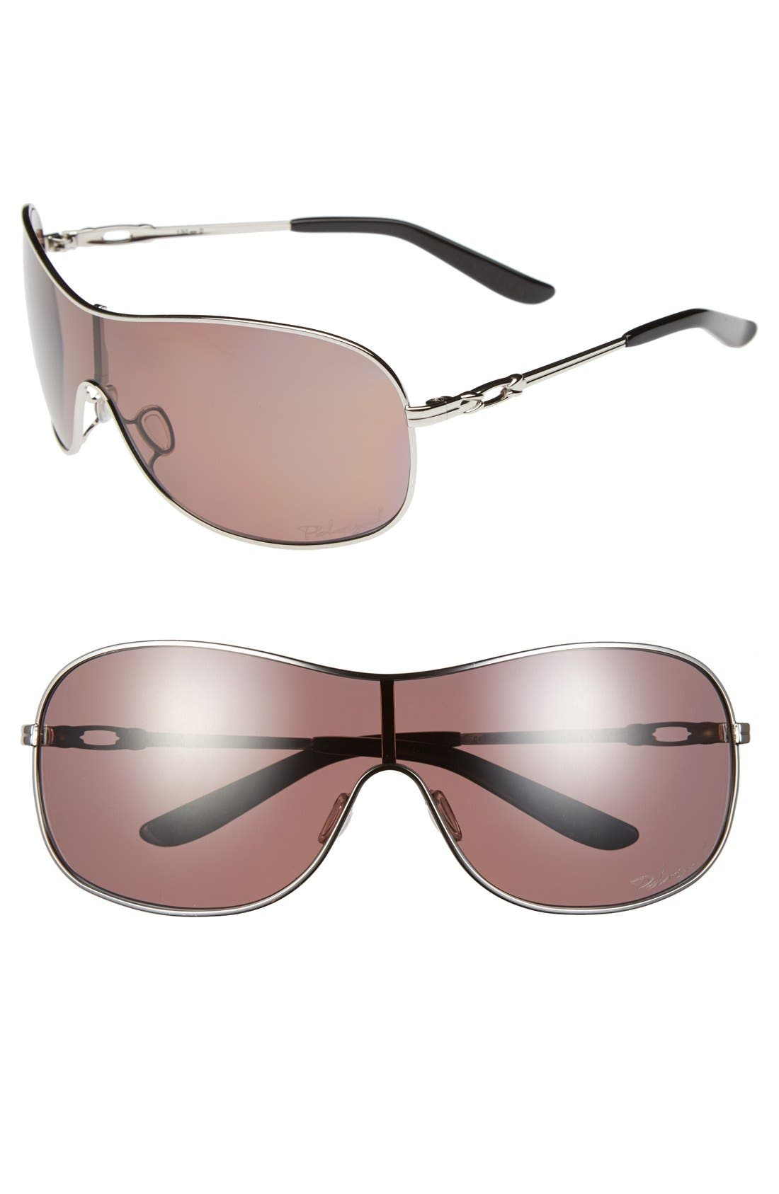 Main Image - Oakley 'Collected' Shield 130mm Sunglasses
