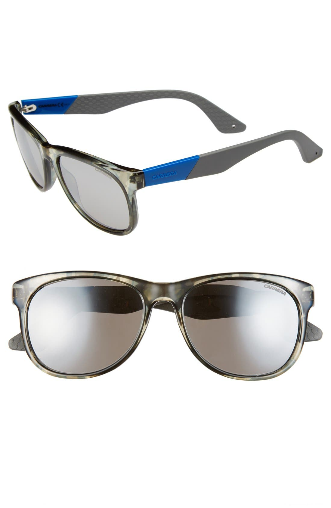 Alternate Image 1 Selected - Carrera Eyewear 55mm Retro Sunglasses