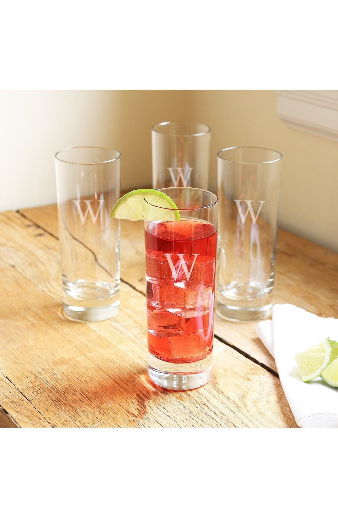 Main Image - Cathy's Concepts Personalized Cocktail Glasses (Set of 4)