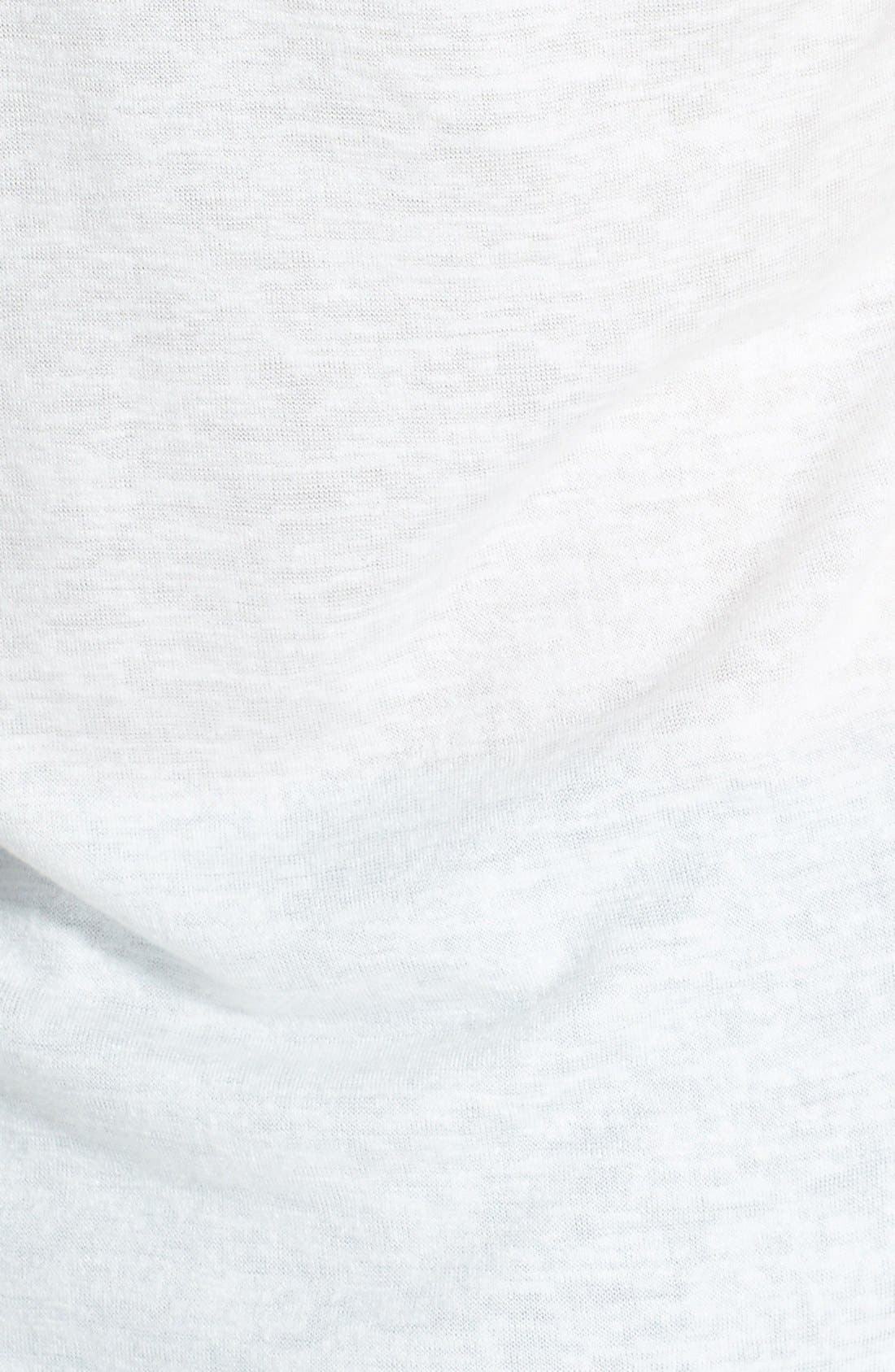Alternate Image 3  - Miss Me Crochet Sleeve Sequin Top