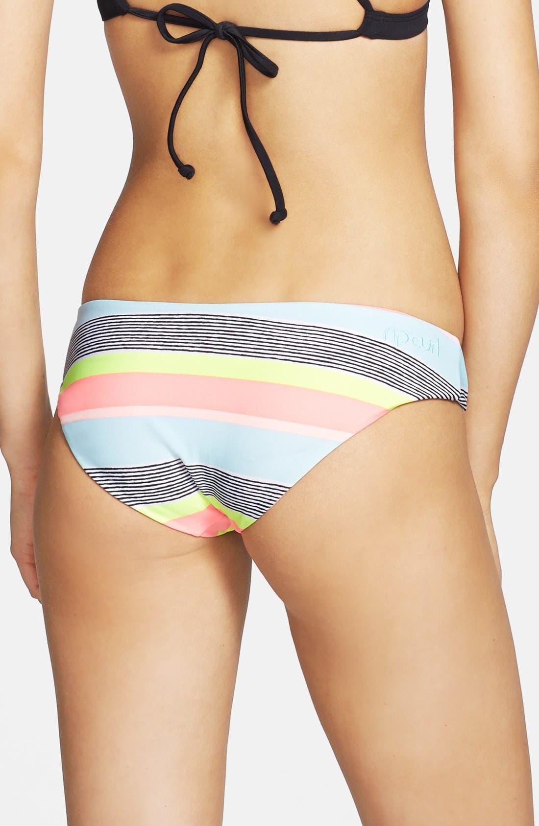 Alternate Image 1 Selected - Rip Curl 'Down the Line' Bikini Bottoms (Juniors)