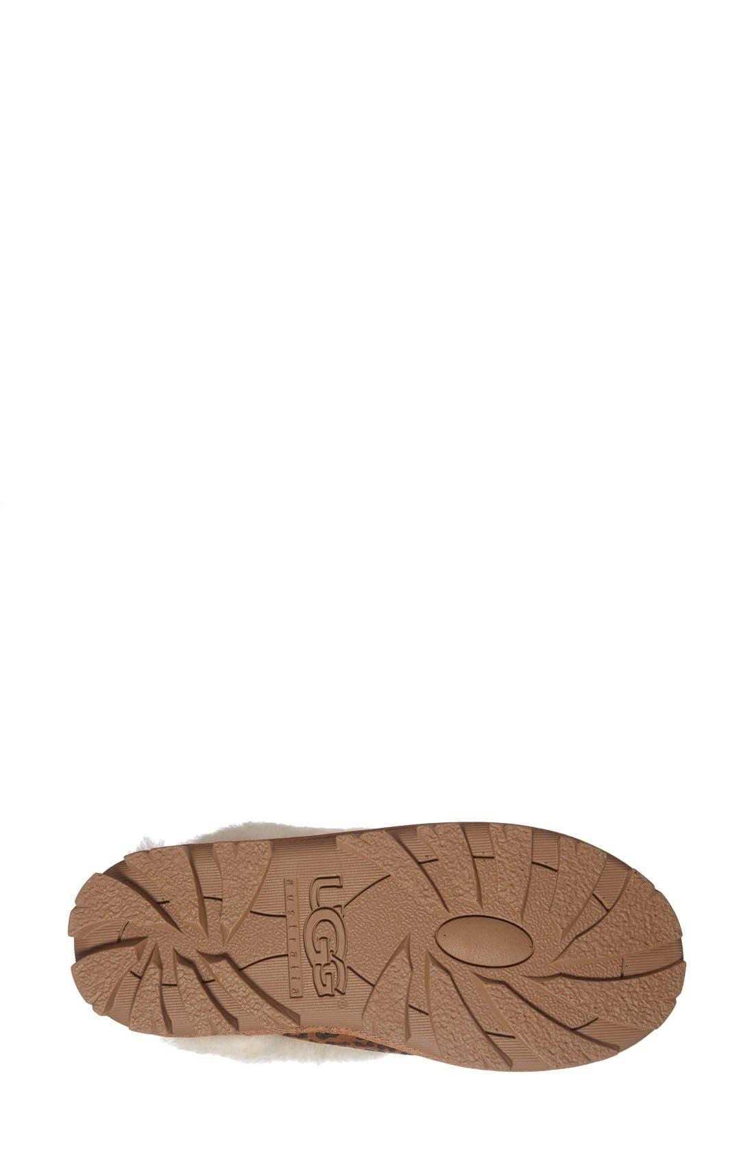 Alternate Image 4  - UGG® Australia 'Coquette Rosette' Slipper