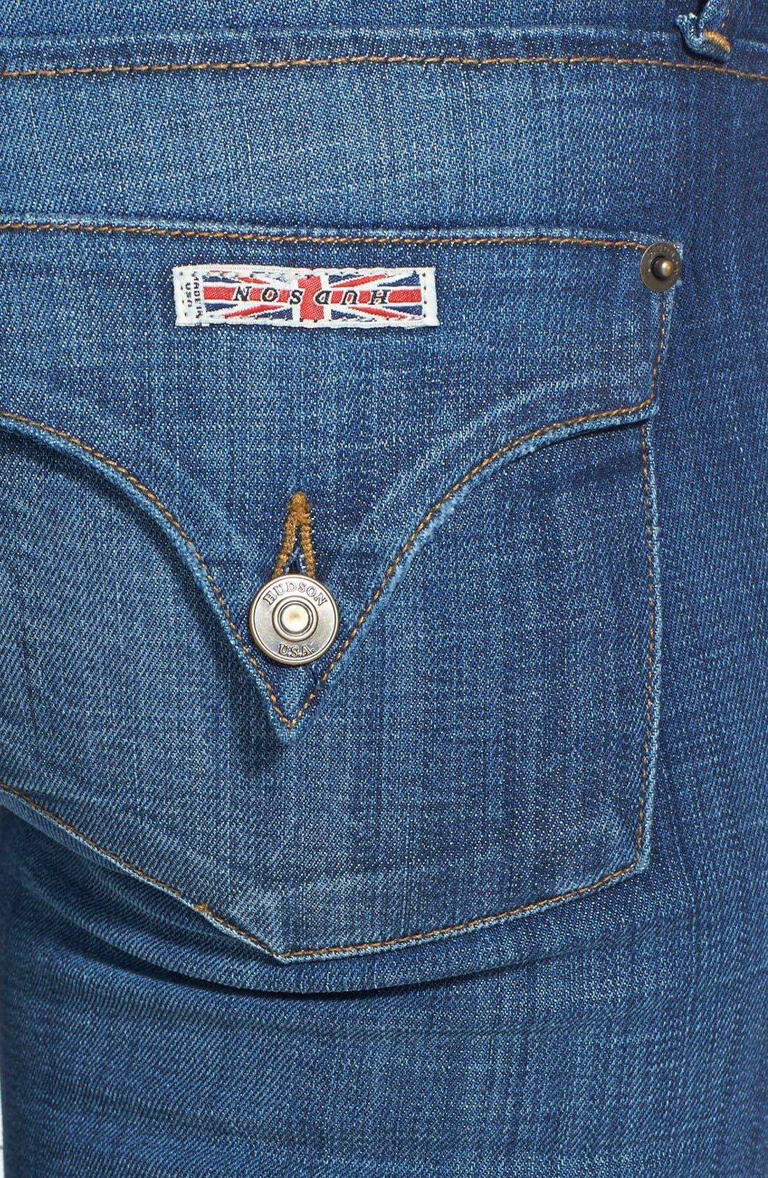 Alternate Image 3  - Hudson Jeans 'Collin' Skinny Jeans (Saville)