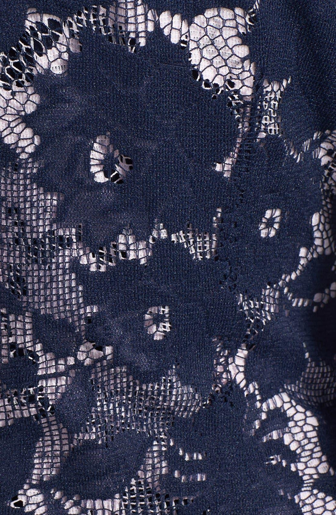 Alternate Image 3  - Maia Double Layer Lace Sheath Dress