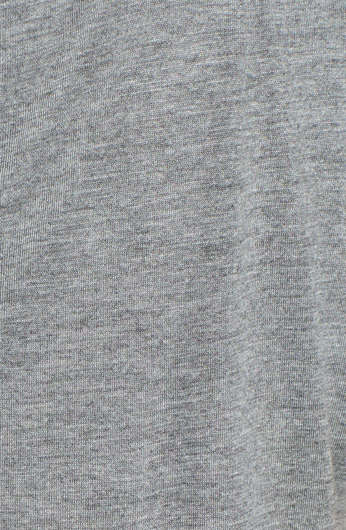 Alternate Image 3  - Two by Vince Camuto Embellished Jersey & Chiffon Tank