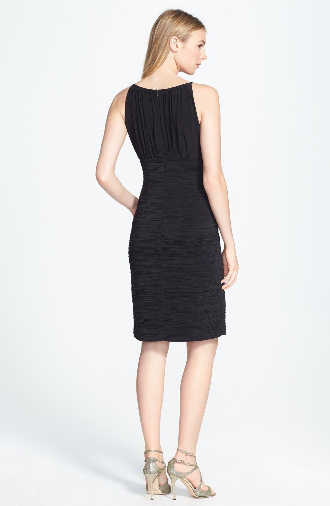 Alternate Image 2  - JS Boutique Ruched Jersey Dress