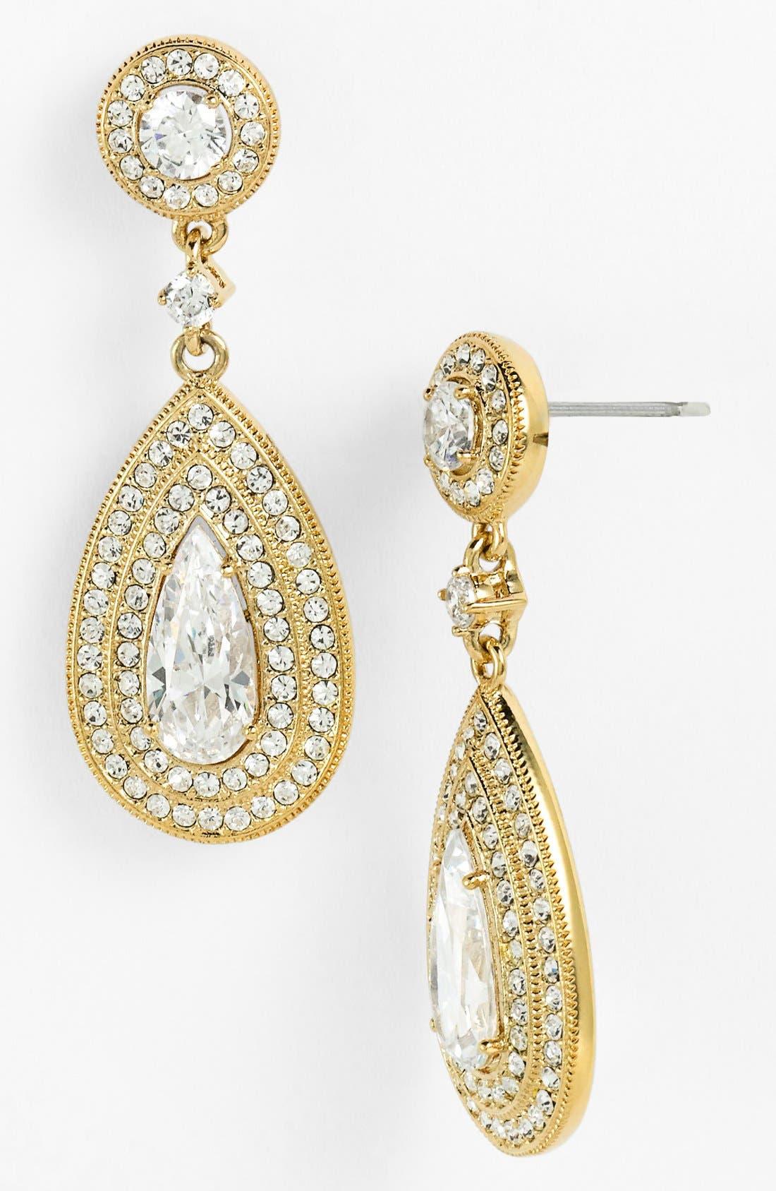 Alternate Image 1  - Nadri Pear Drop Earrings