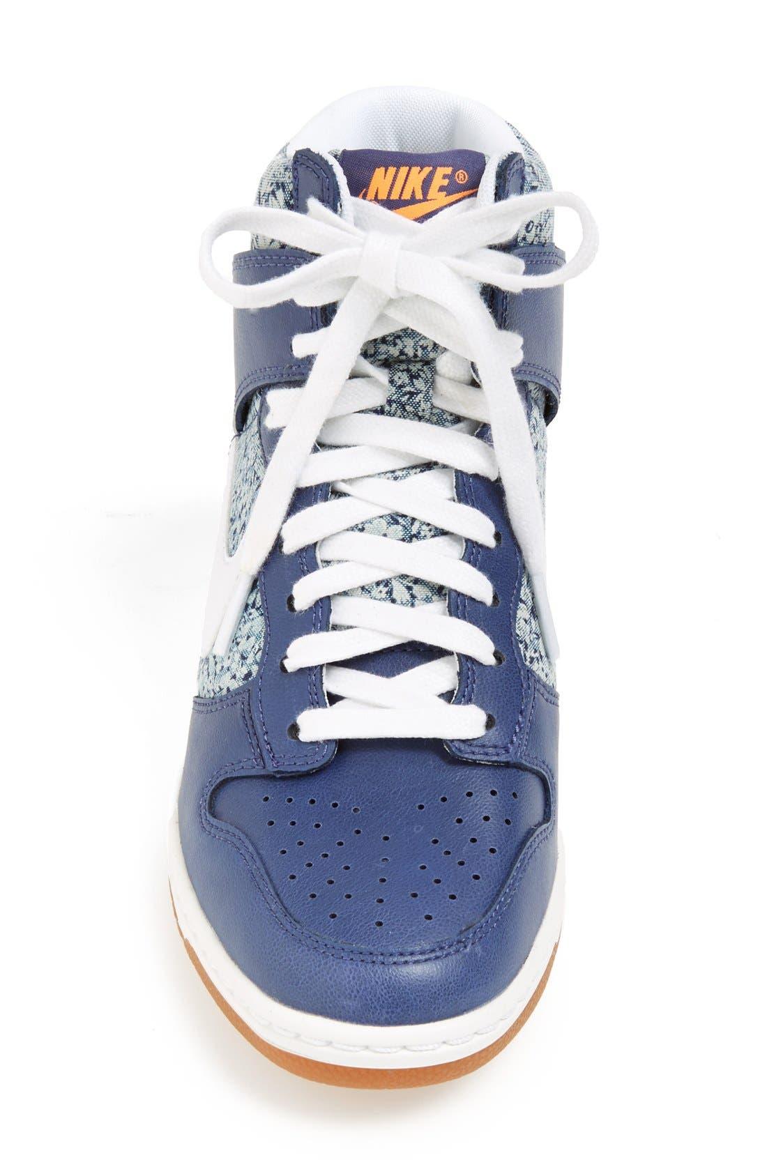 Alternate Image 3  - Nike 'Dunk Sky Hi Liberty' Hidden Wedge Sneaker (Women)