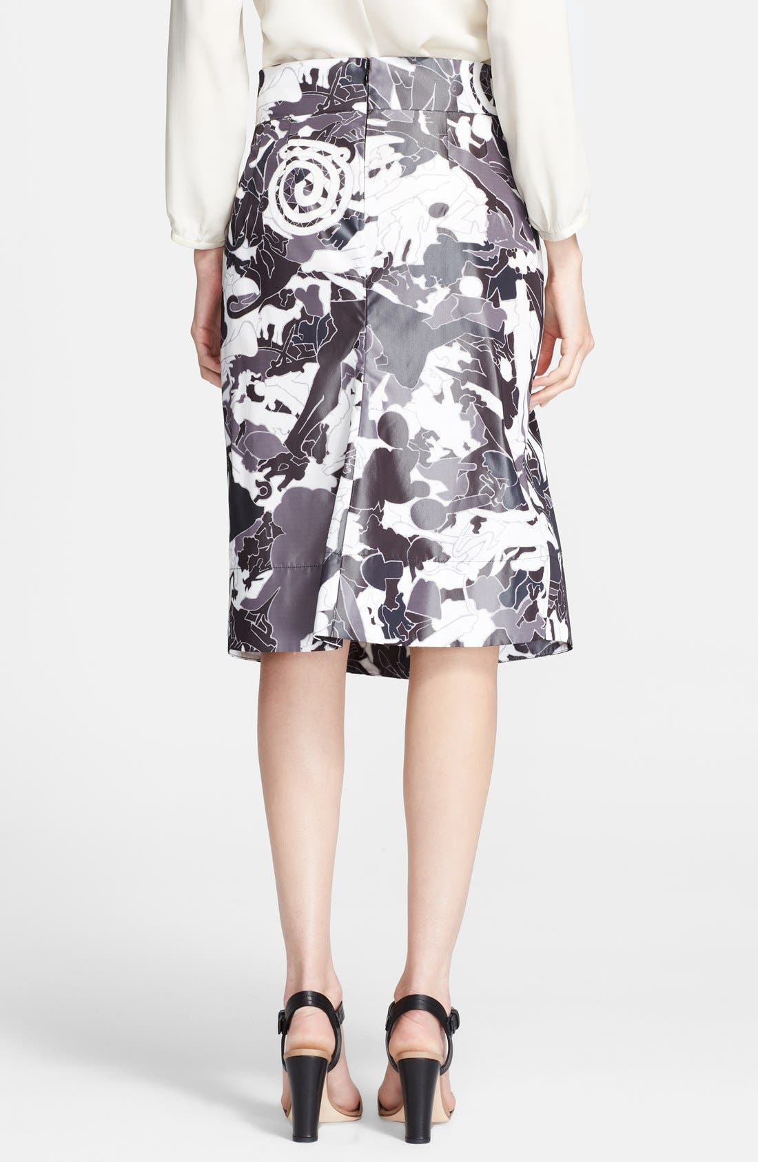 Alternate Image 2  - Jil Sander Print Skirt