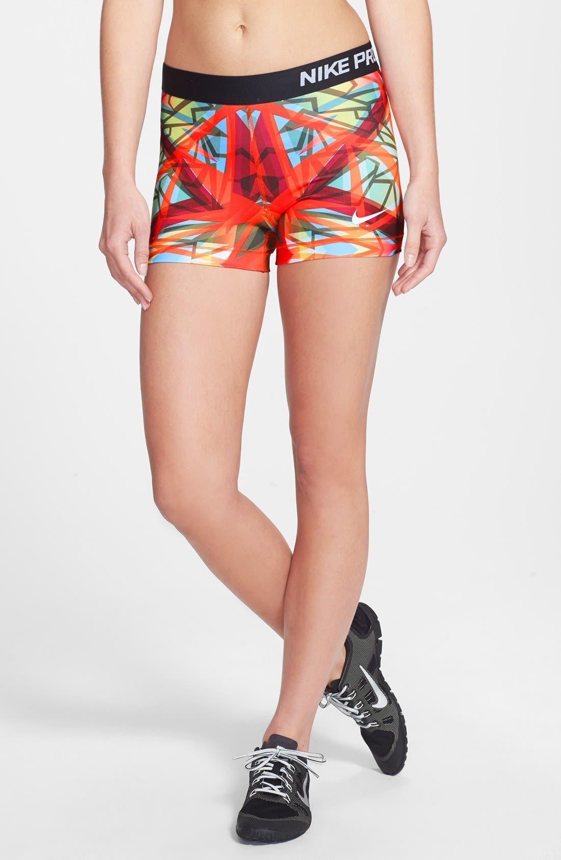 Alternate Image 1 Selected - Nike 'Pro Core - Kaleidoscope' Dri-FIT Compression Shorts