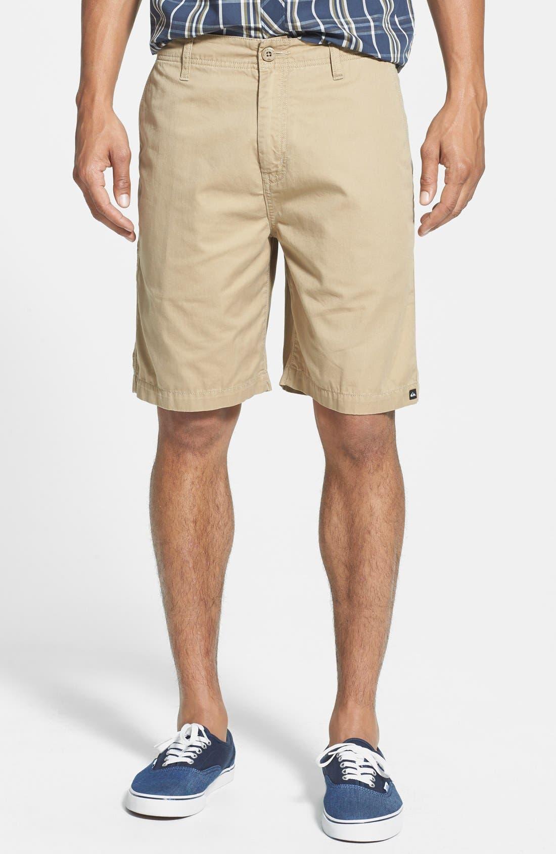 Alternate Image 1 Selected - Quiksilver 'Minor Road' Shorts