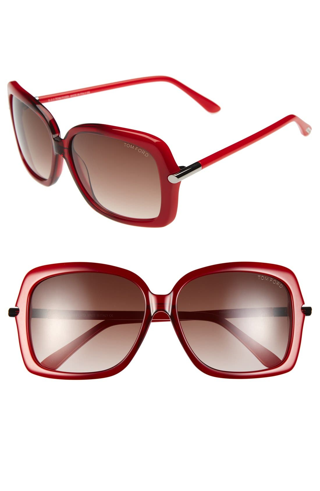Alternate Image 1 Selected - Tom Ford 'Paloma' 59mm Sunglasses
