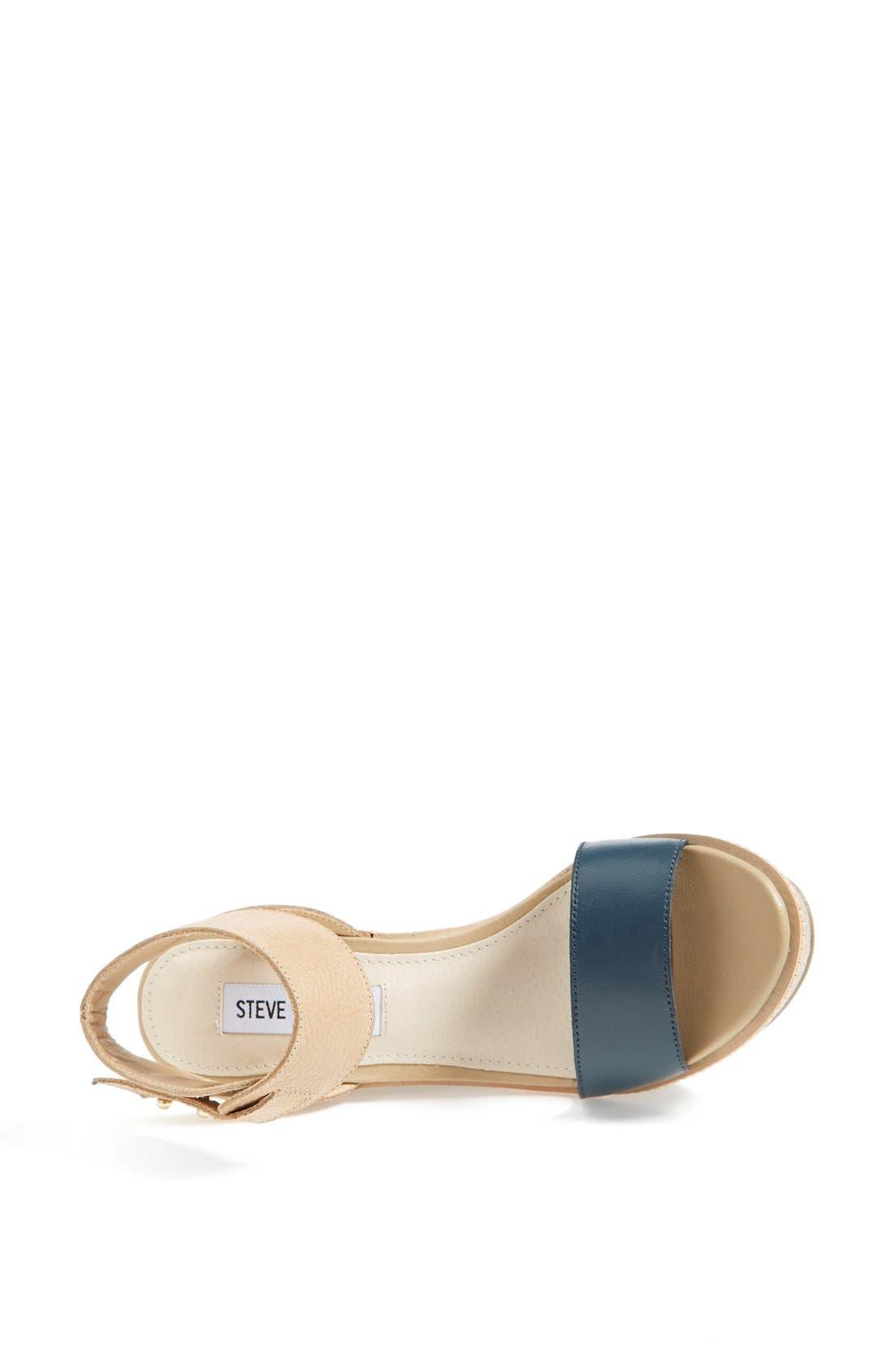 Alternate Image 3  - Steve Madden 'Bevrlie' Sandal (Women)