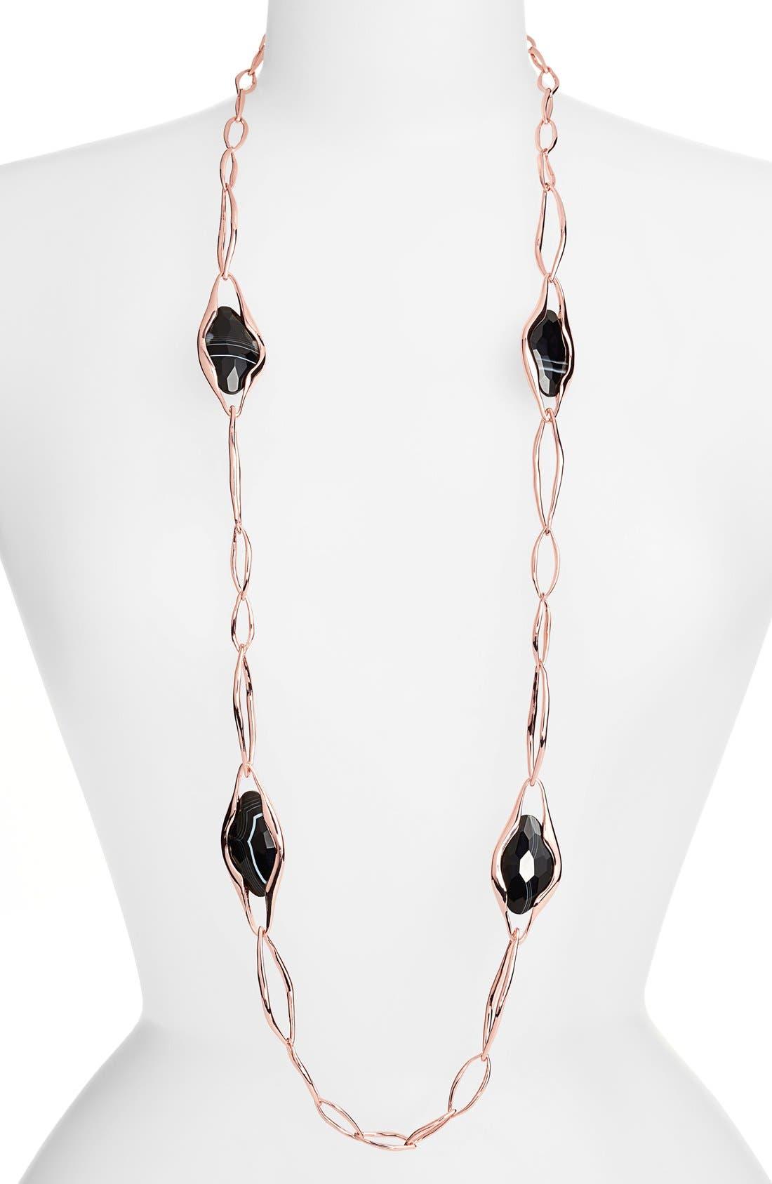 Alternate Image 1 Selected - Alexis Bittar 'Miss Havisham - Liquid' Long Link Necklace