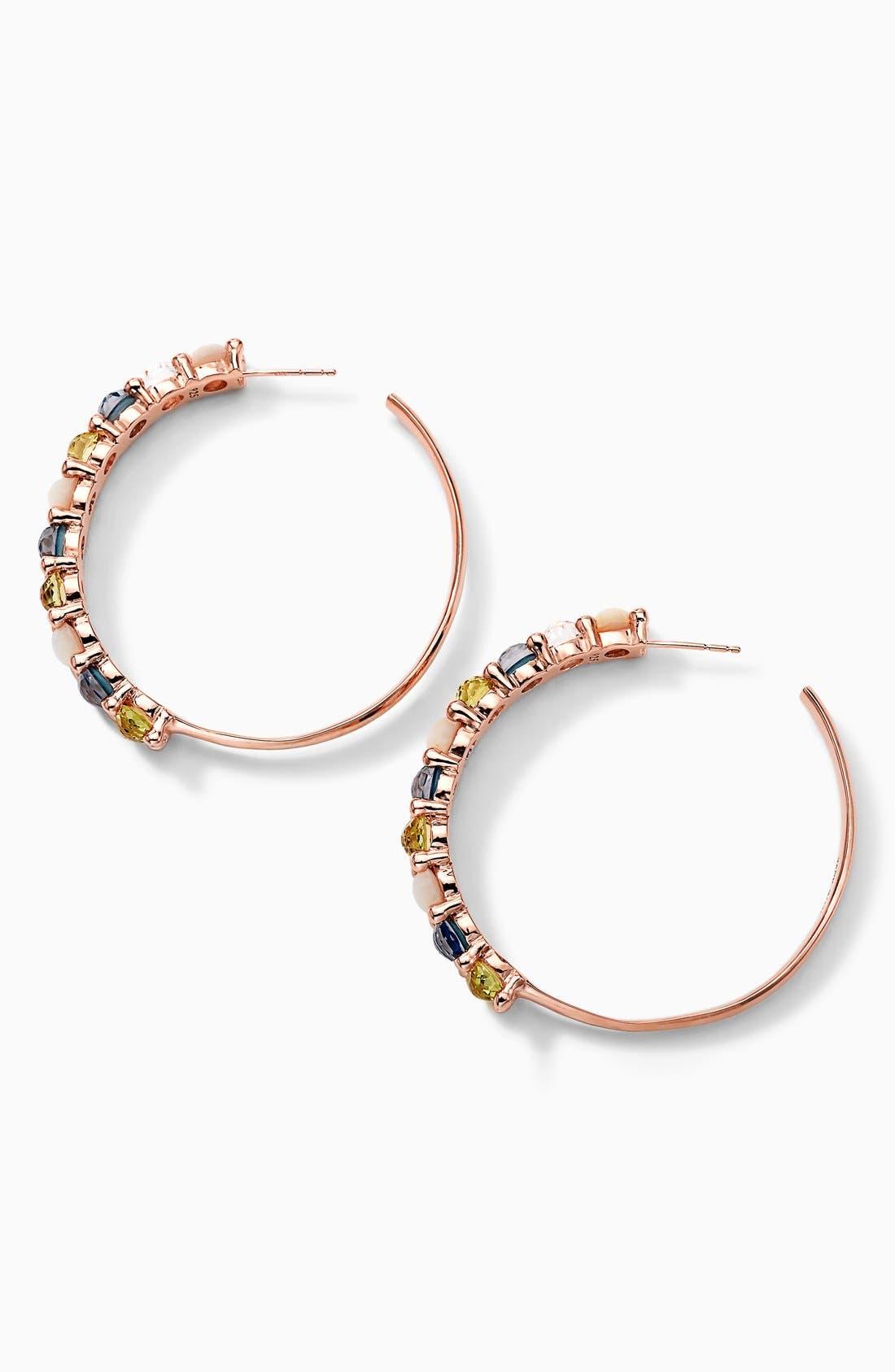 Alternate Image 2  - Ippolita 'Wonderland' Rosé Hoop Earrings