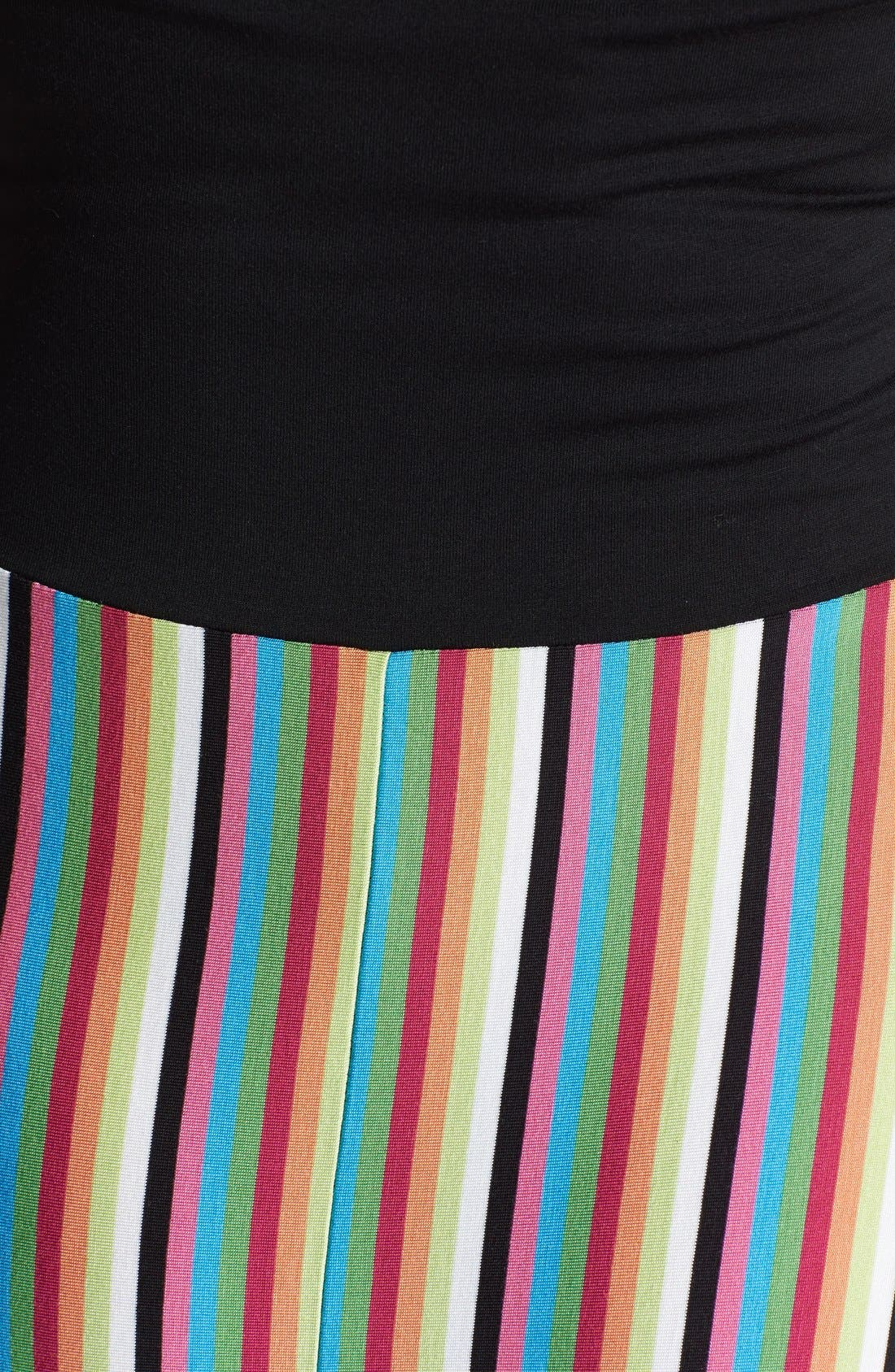 Alternate Image 3  - Felicity & Coco Stripe Strapless Maxi Dress (Plus Size) (Nordstrom Exclusive)