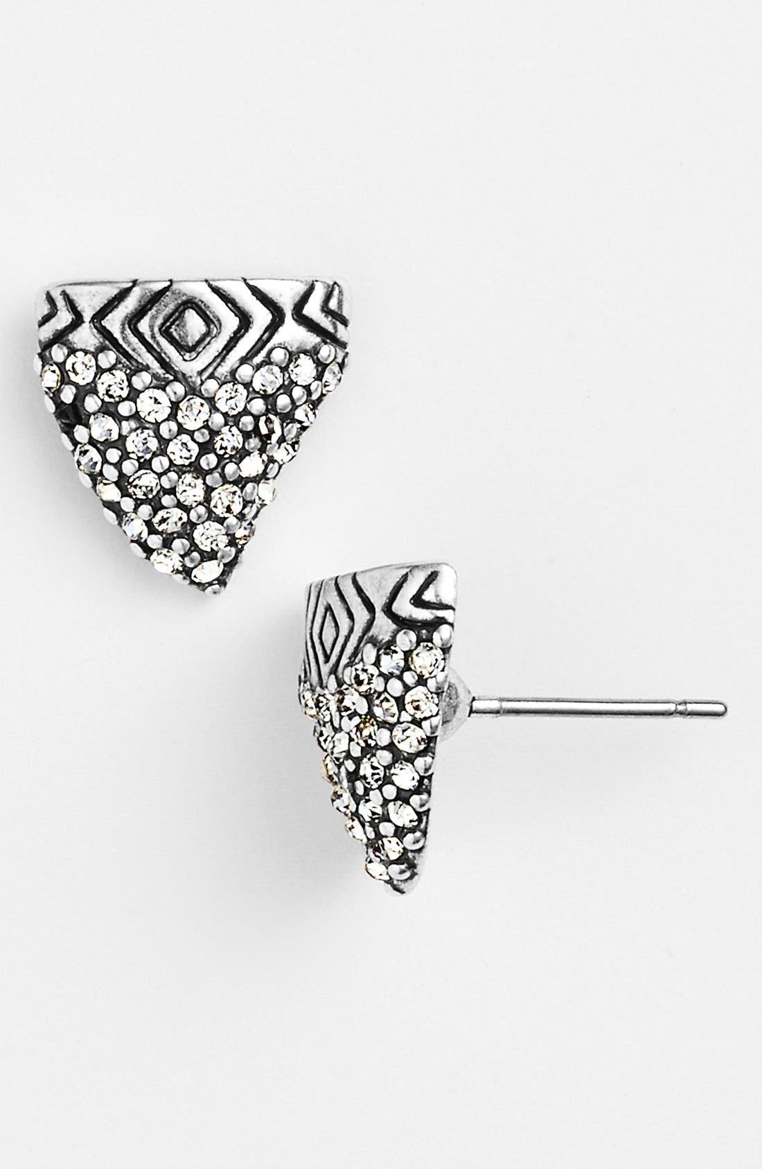 Alternate Image 1 Selected - House of Harlow 1960 'Shark Tooth' Stud Earrings