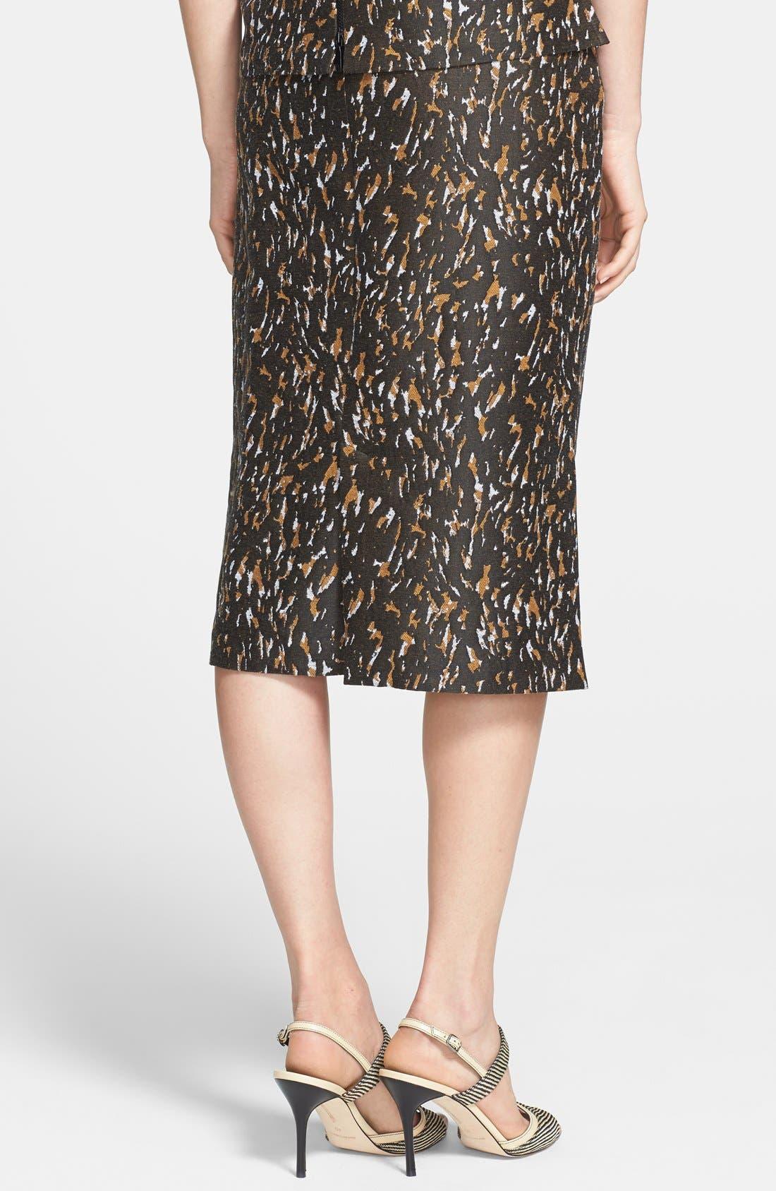 Alternate Image 2  - Lafayette 148 New York 'Priscilla - Urban Jacquard' Skirt