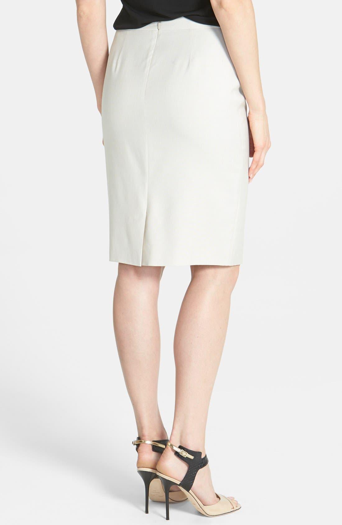 Alternate Image 2  - BOSS 'Vekita' Suiting Skirt